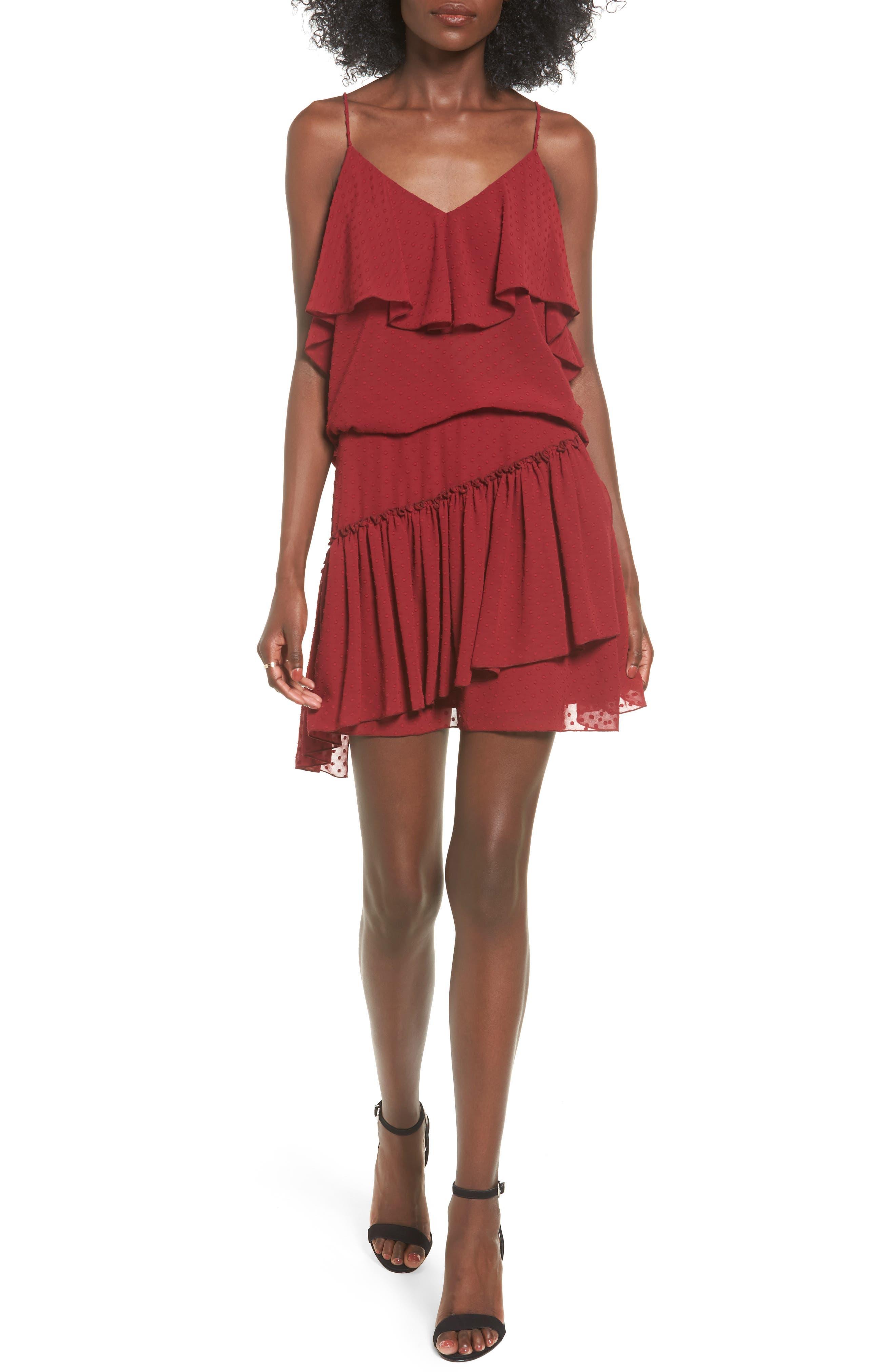 Alternate Image 3  - The Fifth Label Swiss Dot Ruffle Skirt