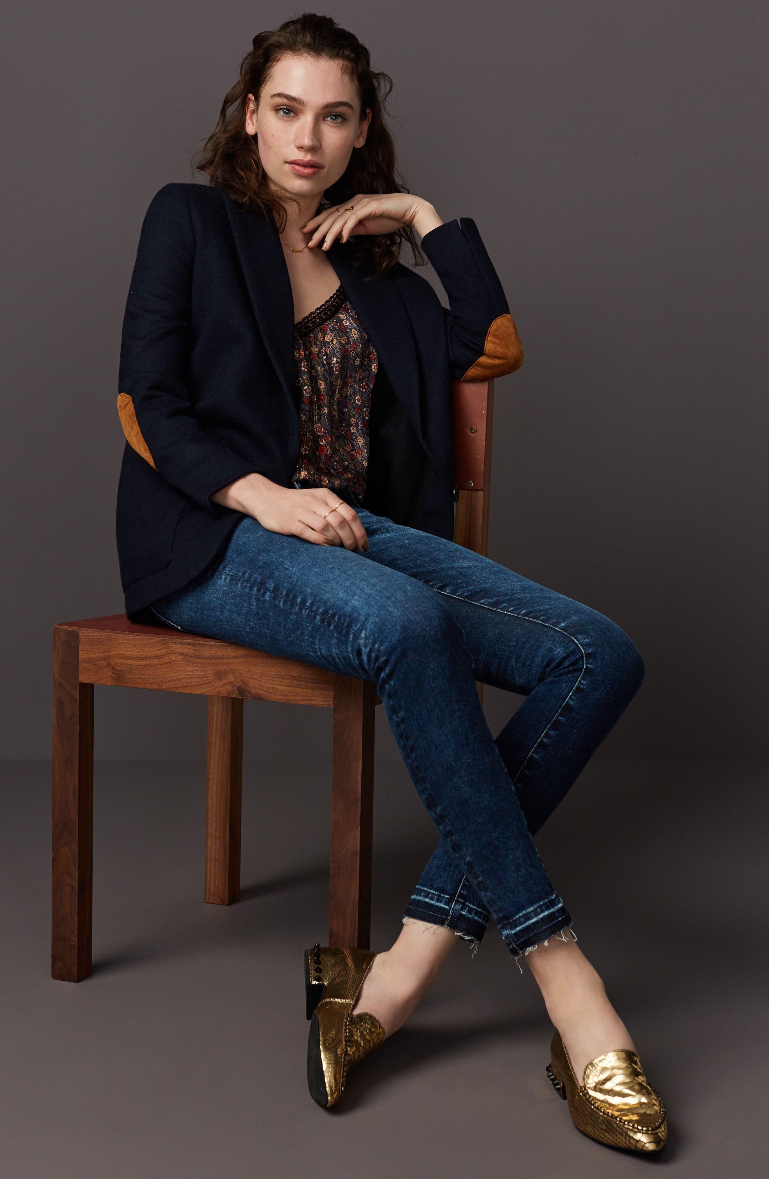 Alternate Image 9  - Jeffrey Campbell Barnett Studded Loafer (Women)
