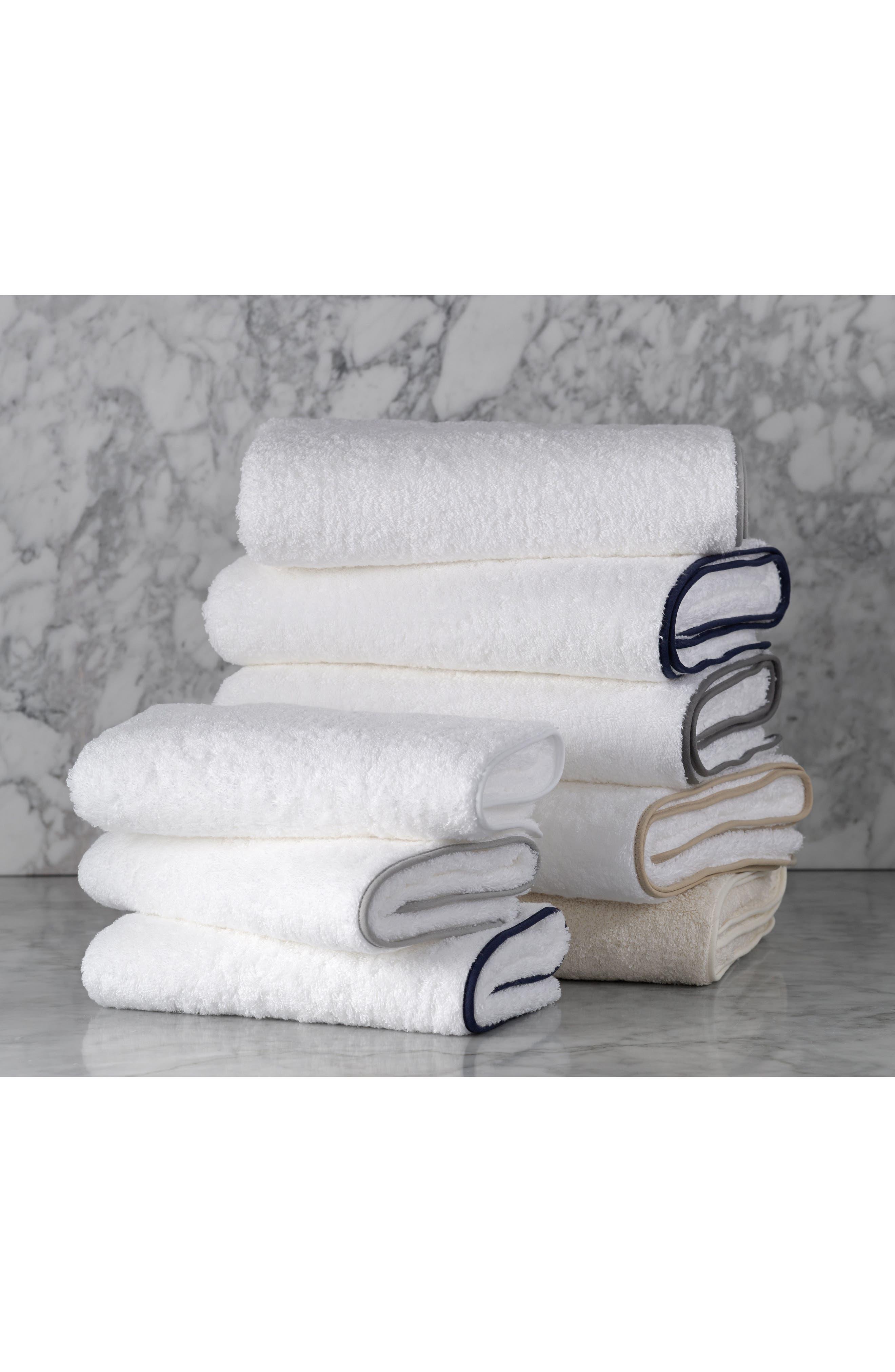 Cairo Bath Towel,                             Alternate thumbnail 4, color,                             Silver