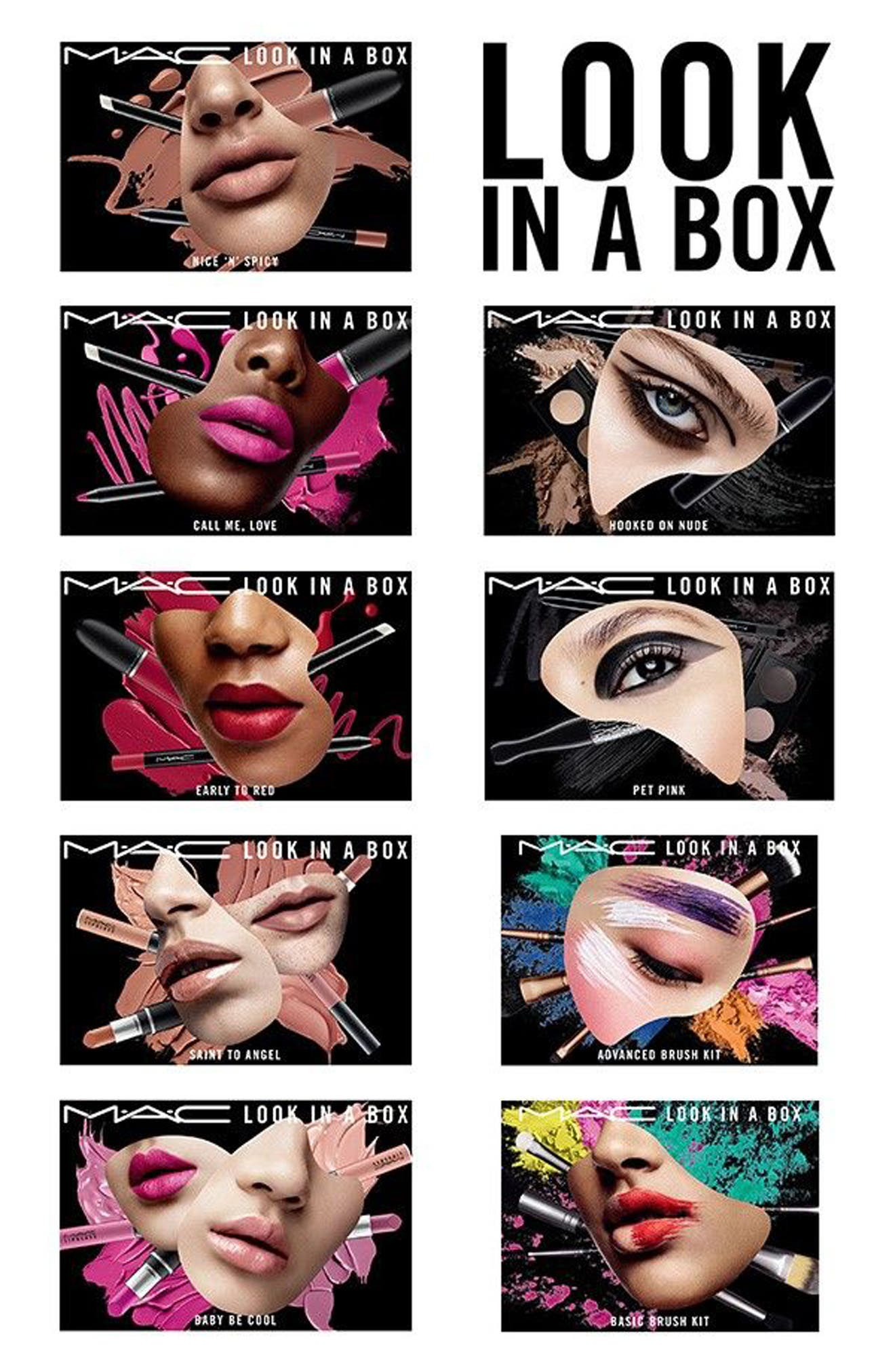 Alternate Image 3  - MAC Look in a Box Advanced Travel Brush Kit (Nordstrom Exclusive) ($167 Value)