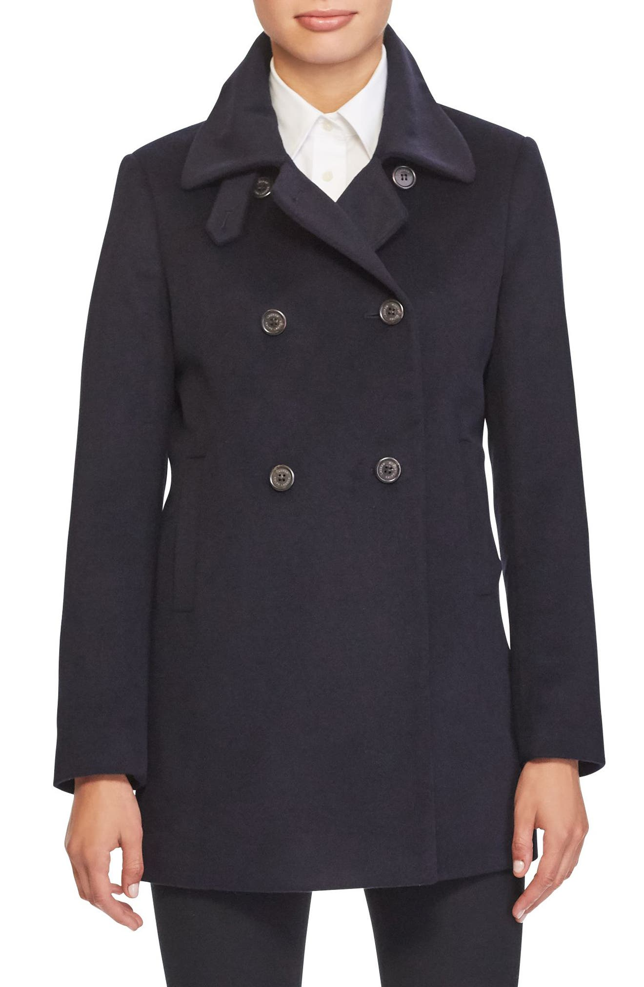 Lauren Ralph Lauren Double Breasted Peacoat