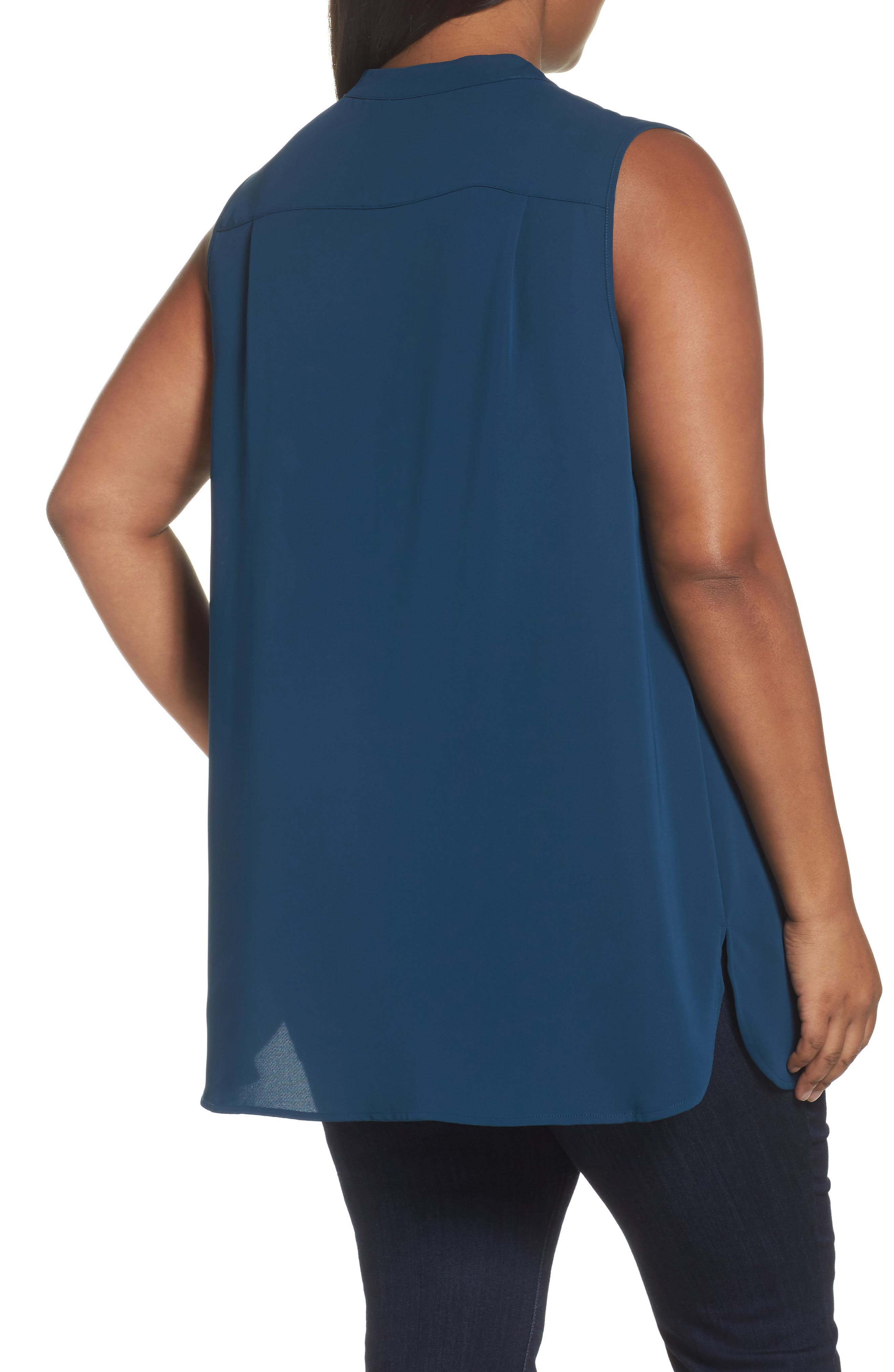 Alternate Image 2  - NIC+ZOE Forget Me Not Top (Plus Size)