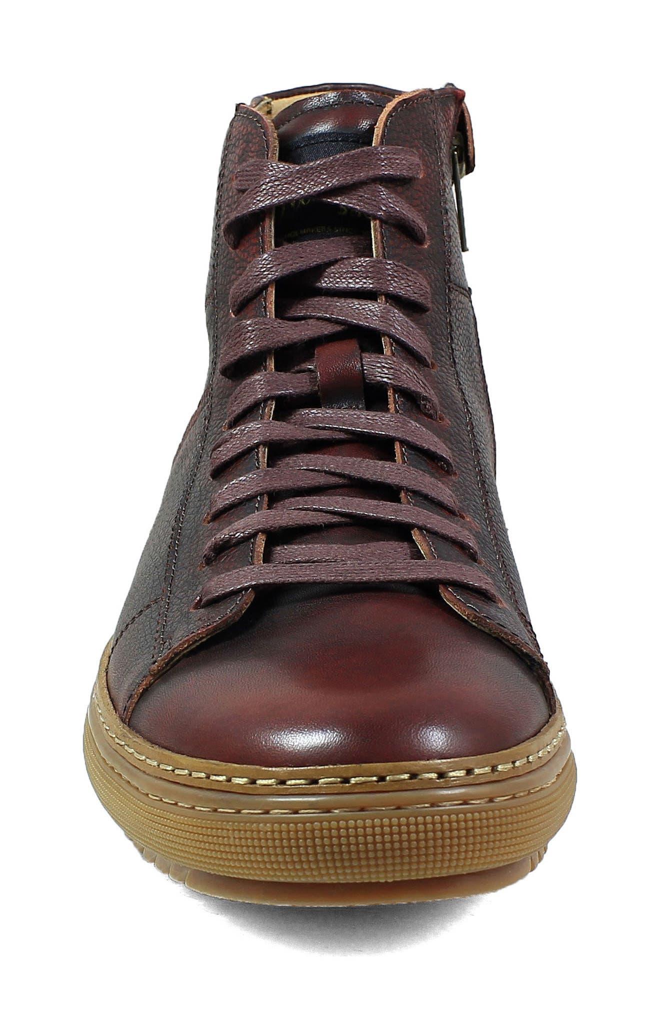 Crew Sneaker,                             Alternate thumbnail 4, color,                             Burgundy