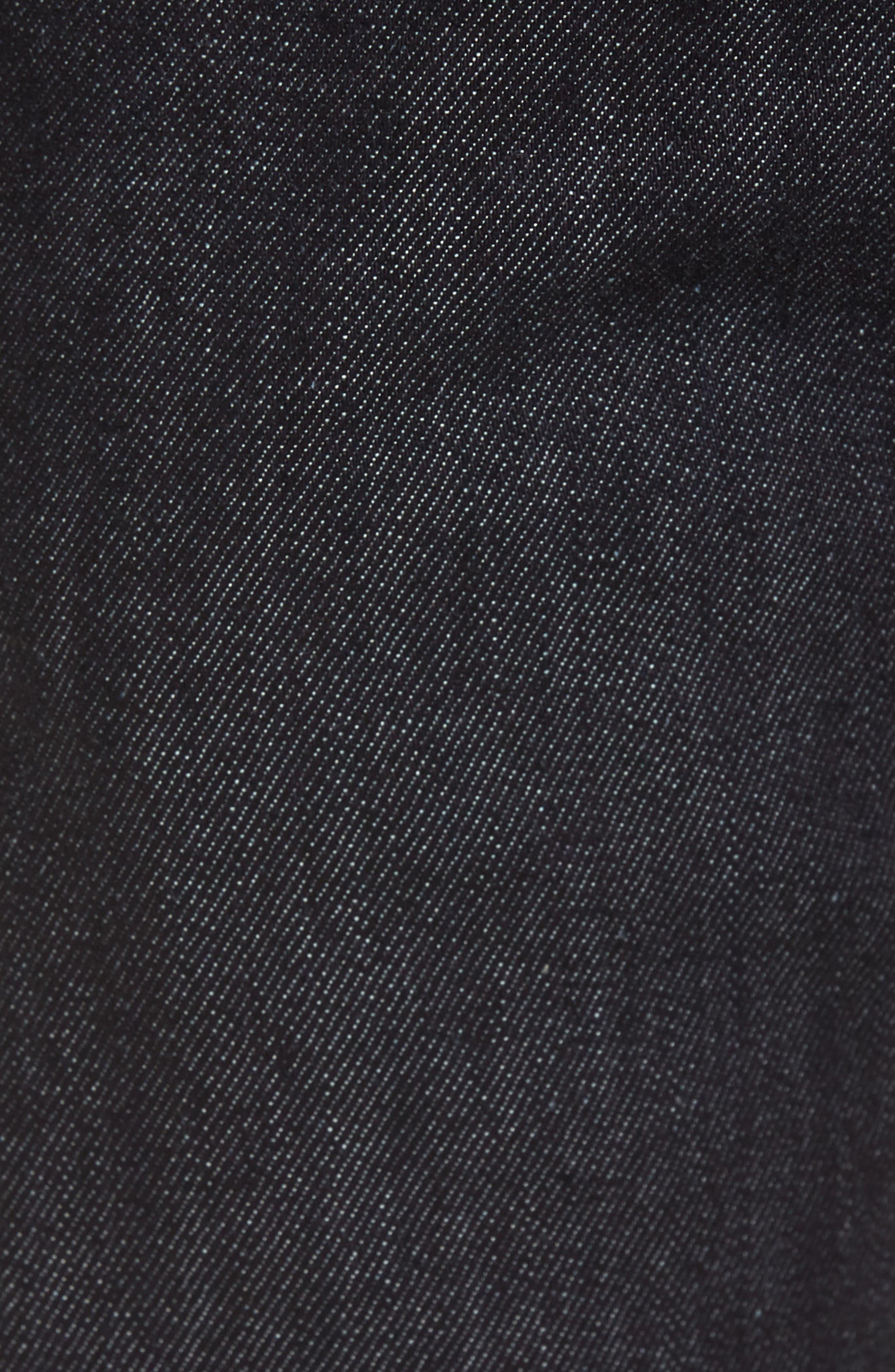 V76 Skinny Jeans,                             Alternate thumbnail 5, color,                             Indigo