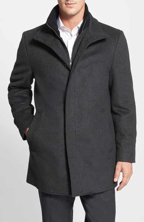Grey Top Coats, Overcoats & Trench Coats for Men | Nordstrom ...