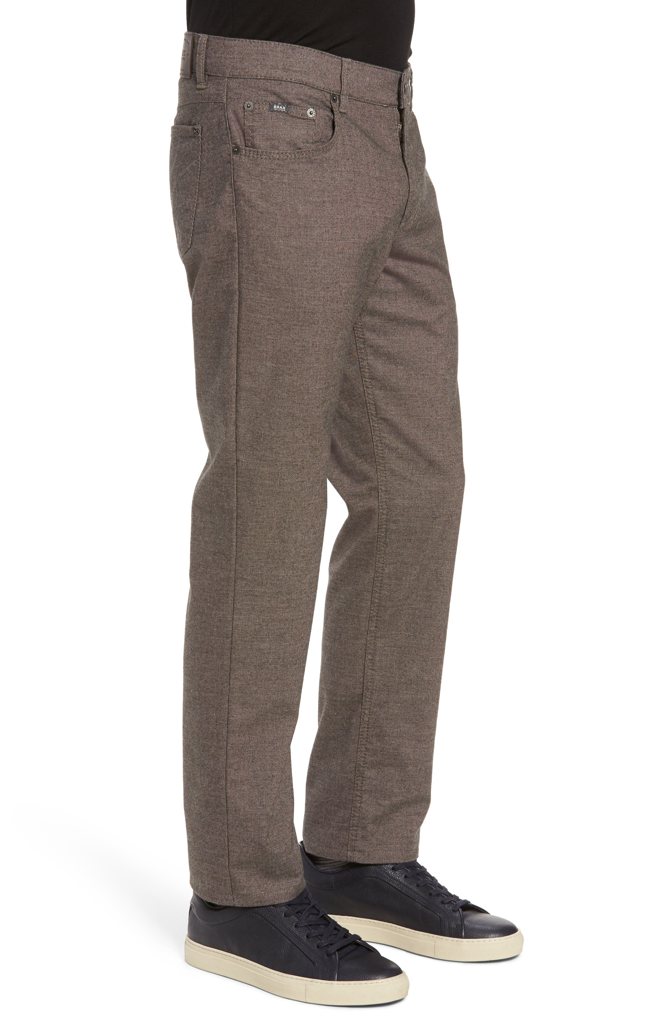 Alternate Image 3  - Brax Five-Pocket Stretch Cotton Trousers