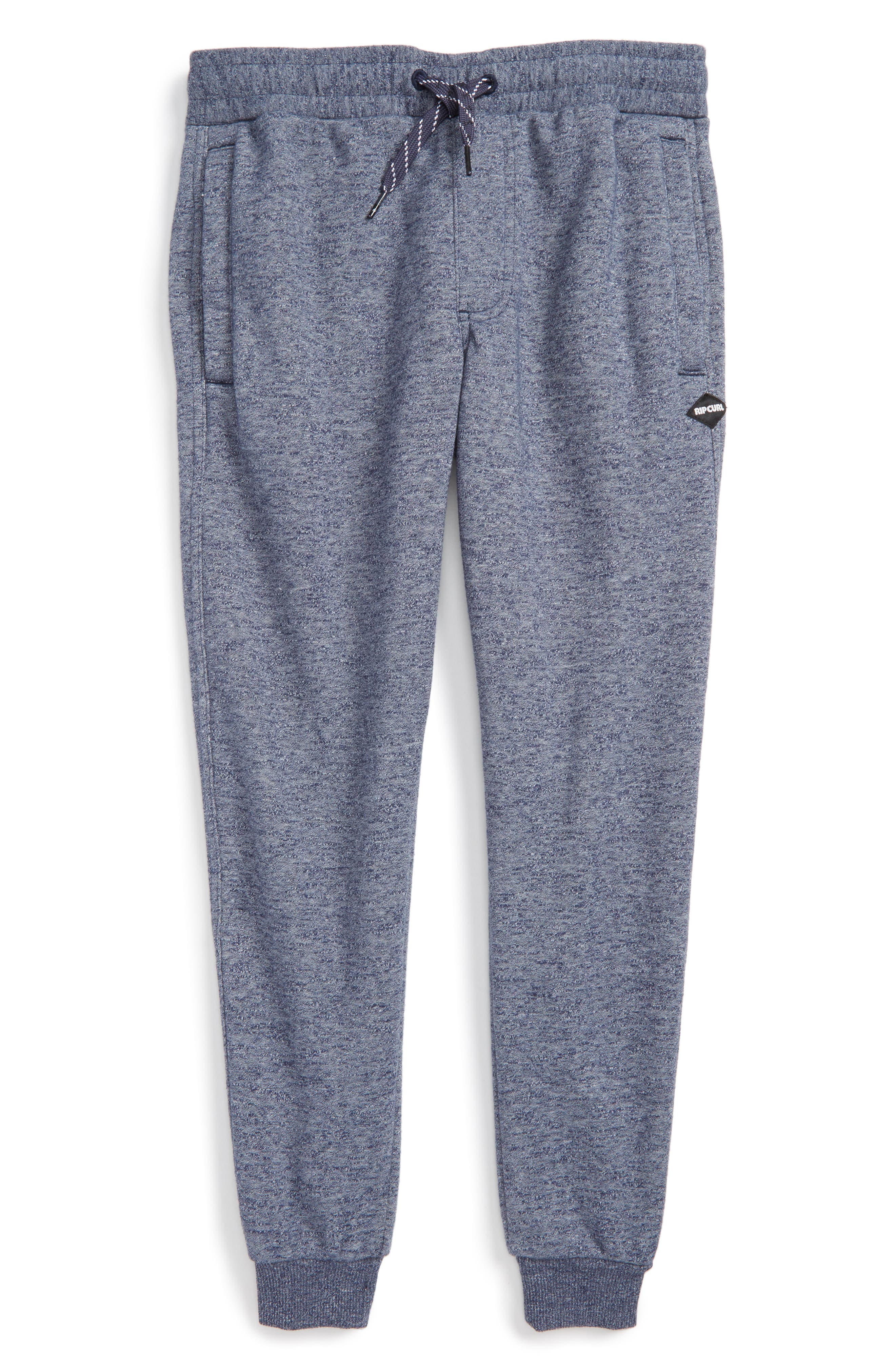 Alternate Image 1 Selected - Rip Curl Destination Fleece Sweatpants (Big Boys)