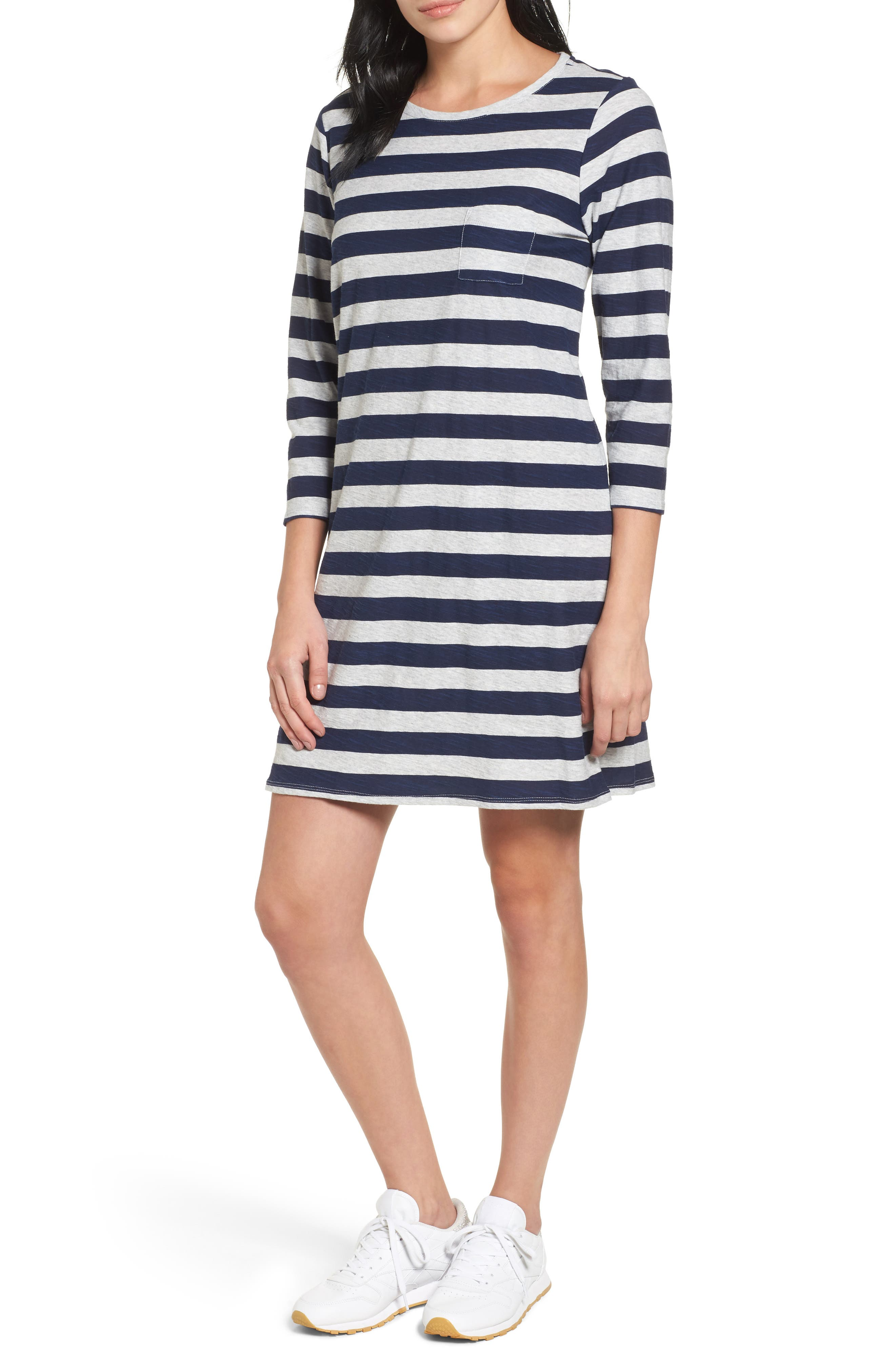 Two by Vince Camuto Lydia Stripe T-Shirt Dress