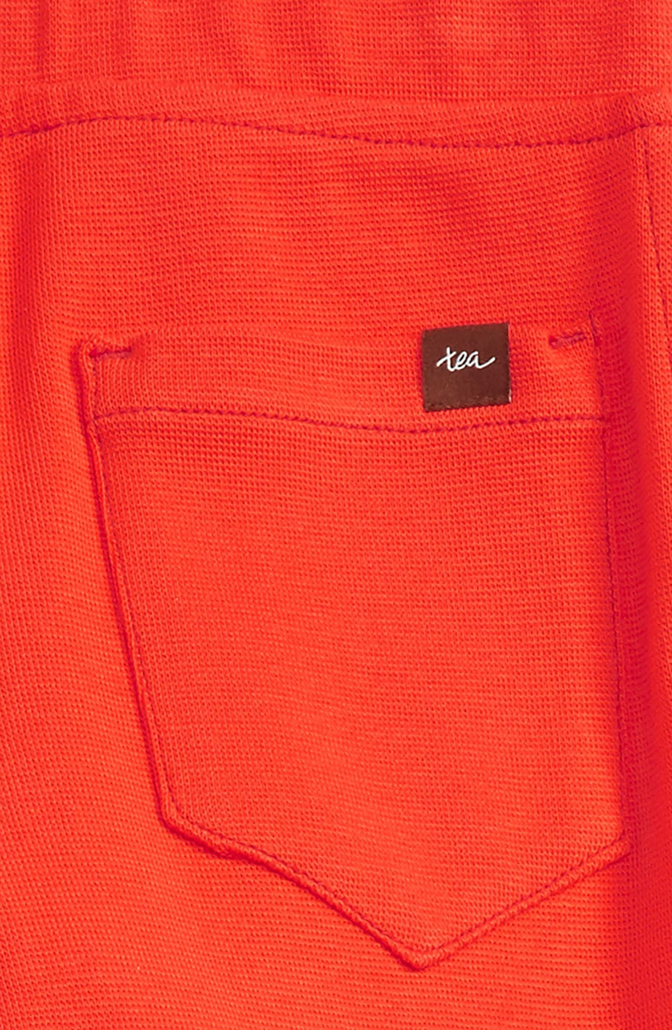 Alternate Image 3  - Tea Collection Ribbed Moto Pants (Toddler Girls, Little Girls & Big Girls)