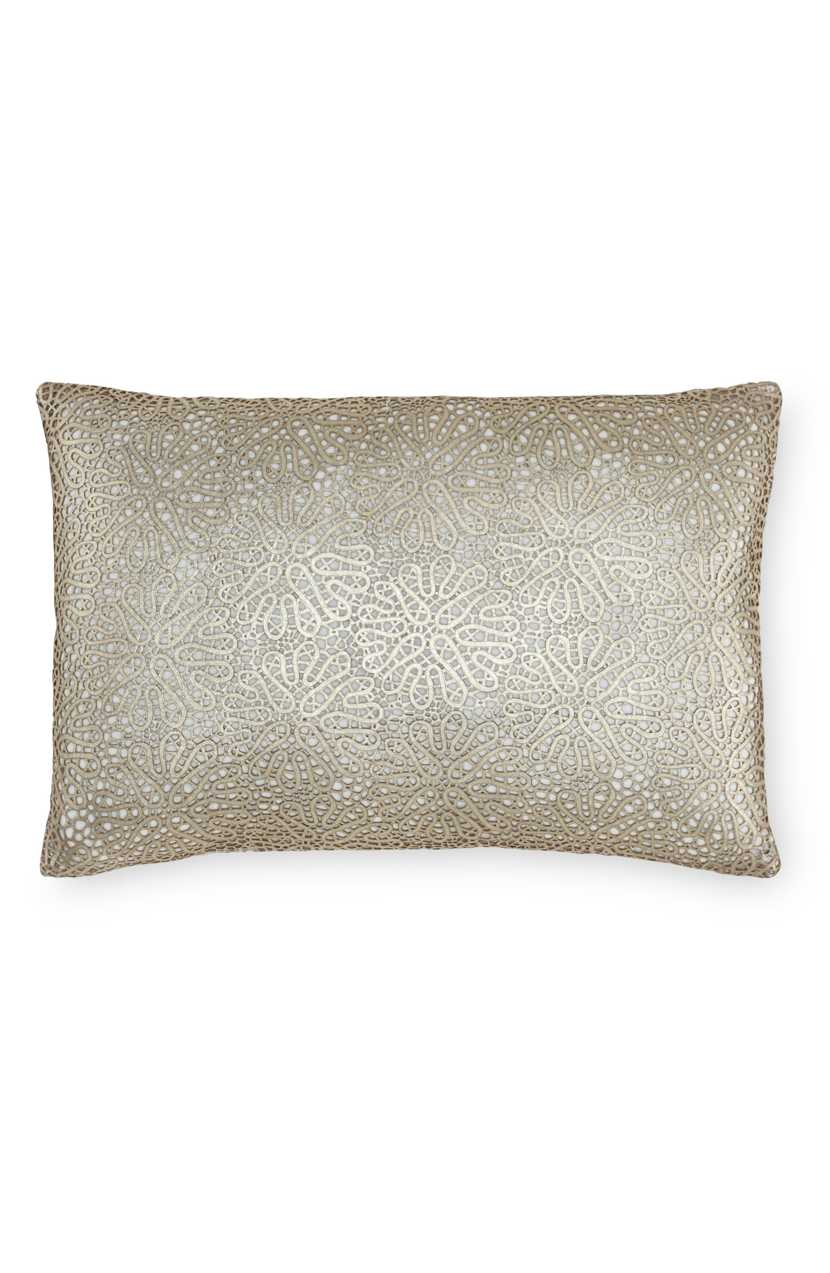 SFERRA Liana Leather Accent Pillow