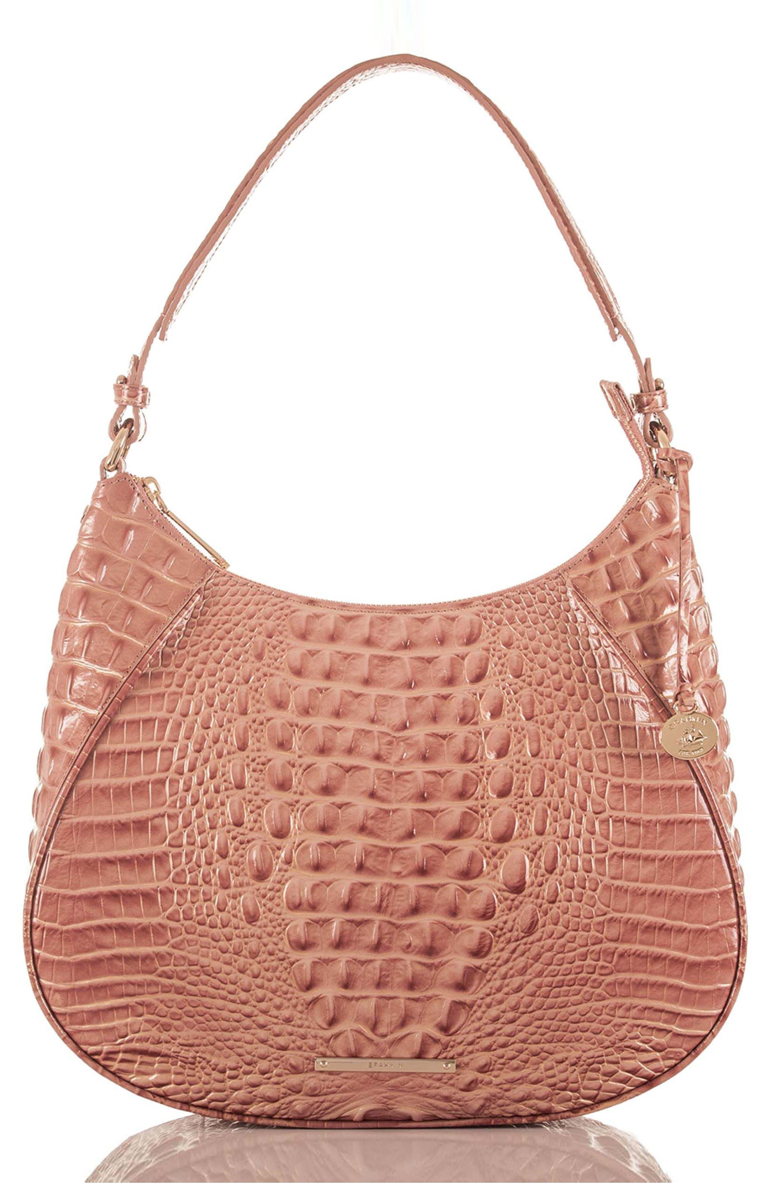 Brahmin Amira Leather Shoulder Bag