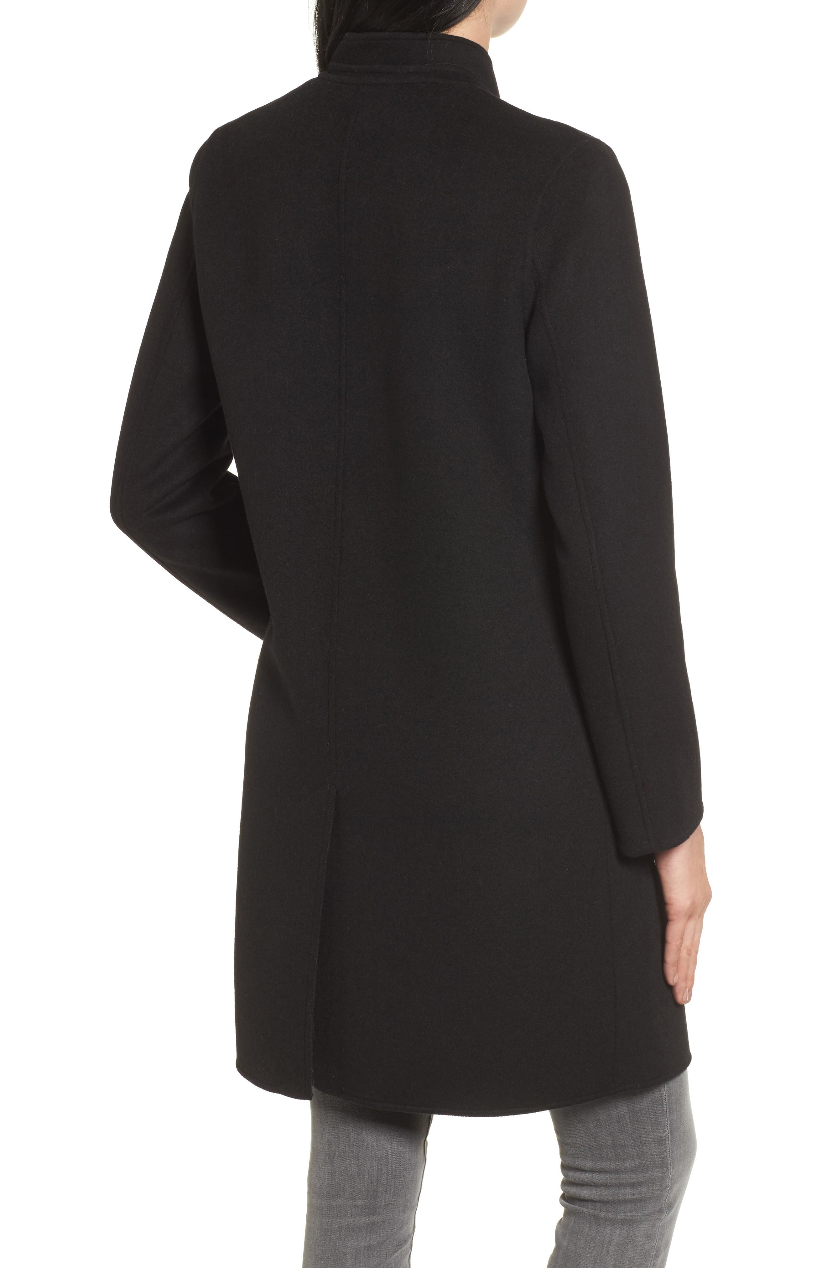 Alternate Image 2  - Kenneth Cole New York Double Face Wool Blend Coat