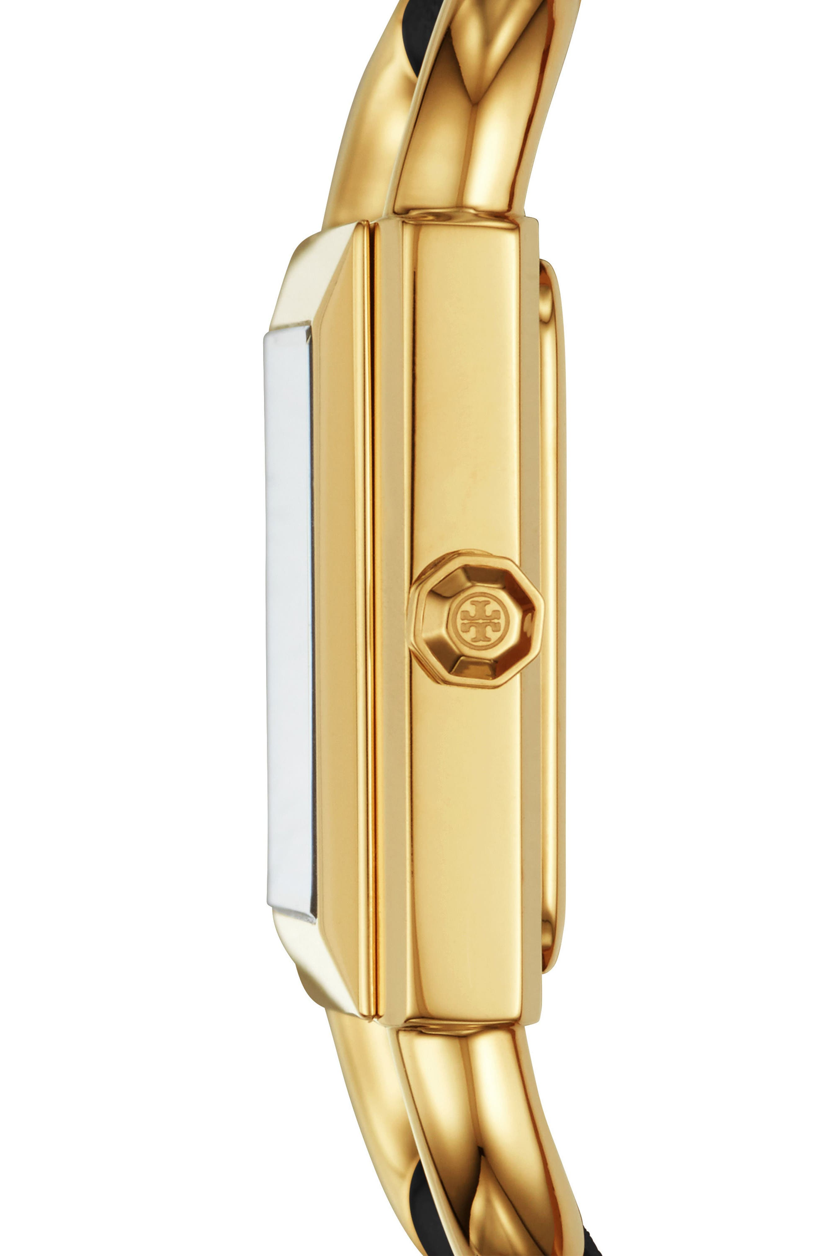 Alternate Image 2  - Tory Burch Phipps Leather Strap Watch, 29mm x 41mm