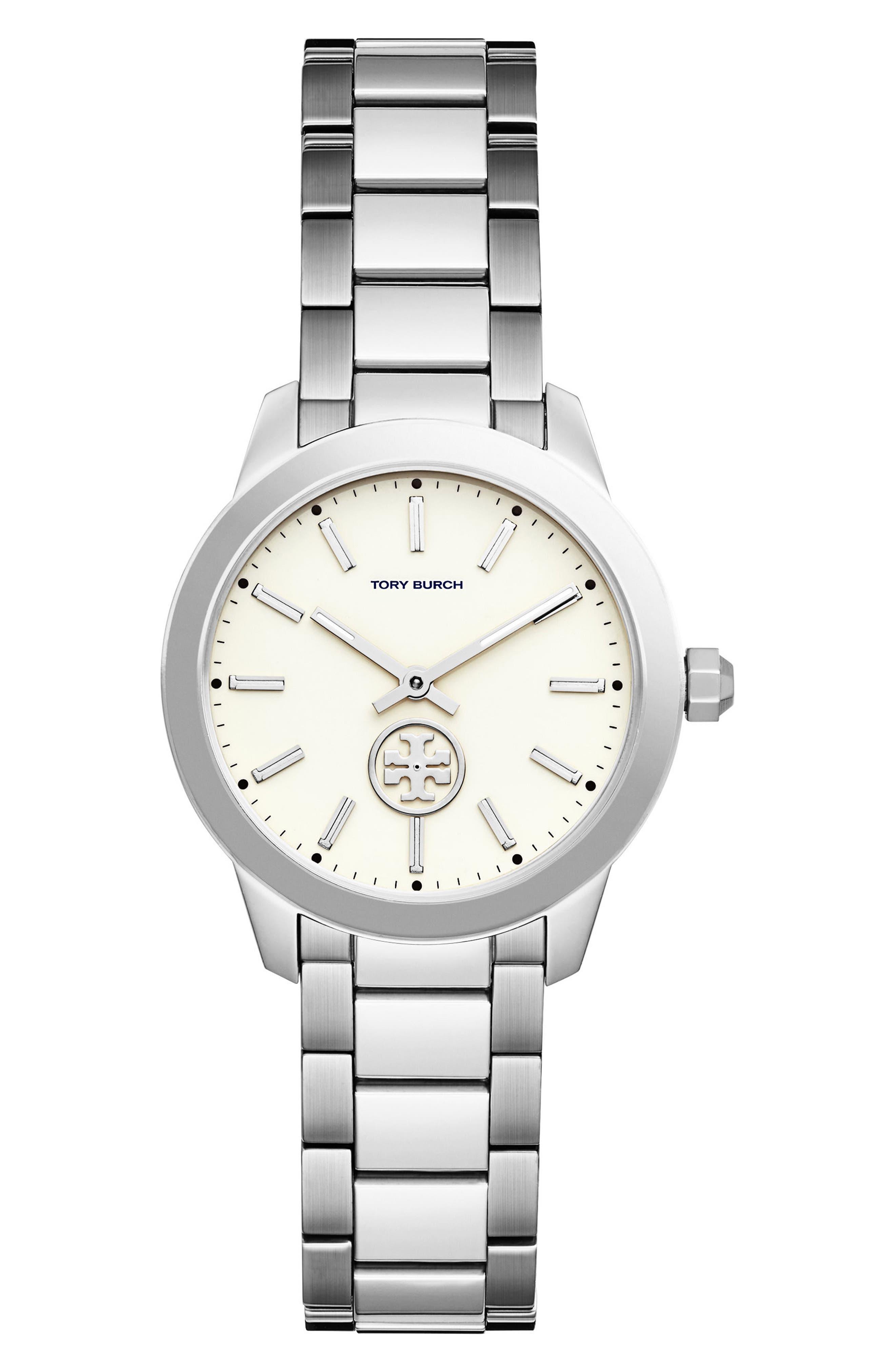 Main Image - Tory Burch Collins Bracelet Watch, 32mm