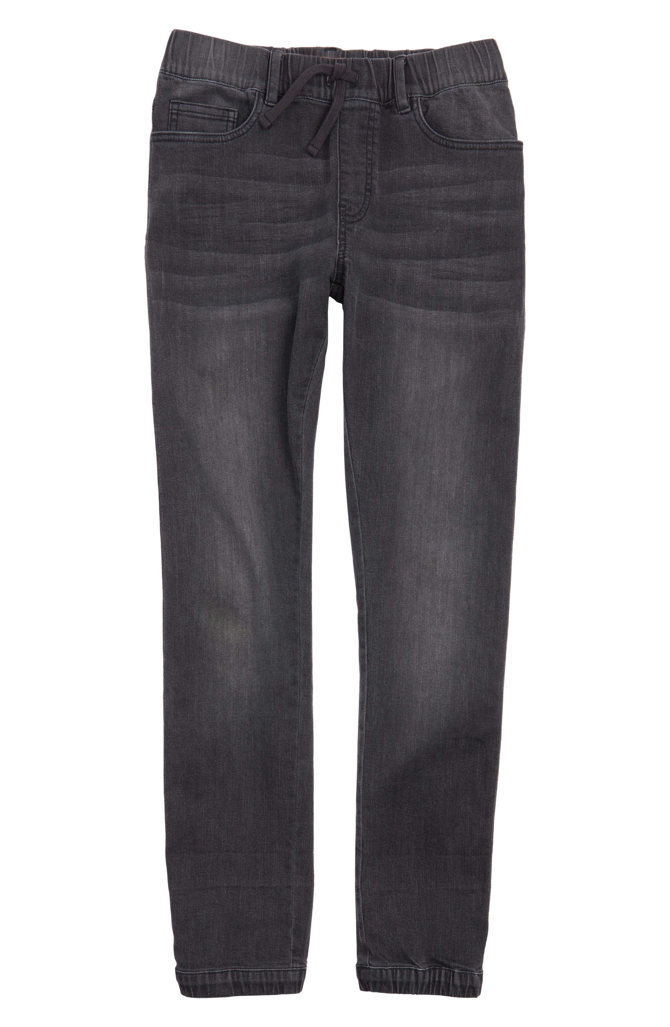 Denim Jogger Pants,                         Main,                         color, Atna Wash