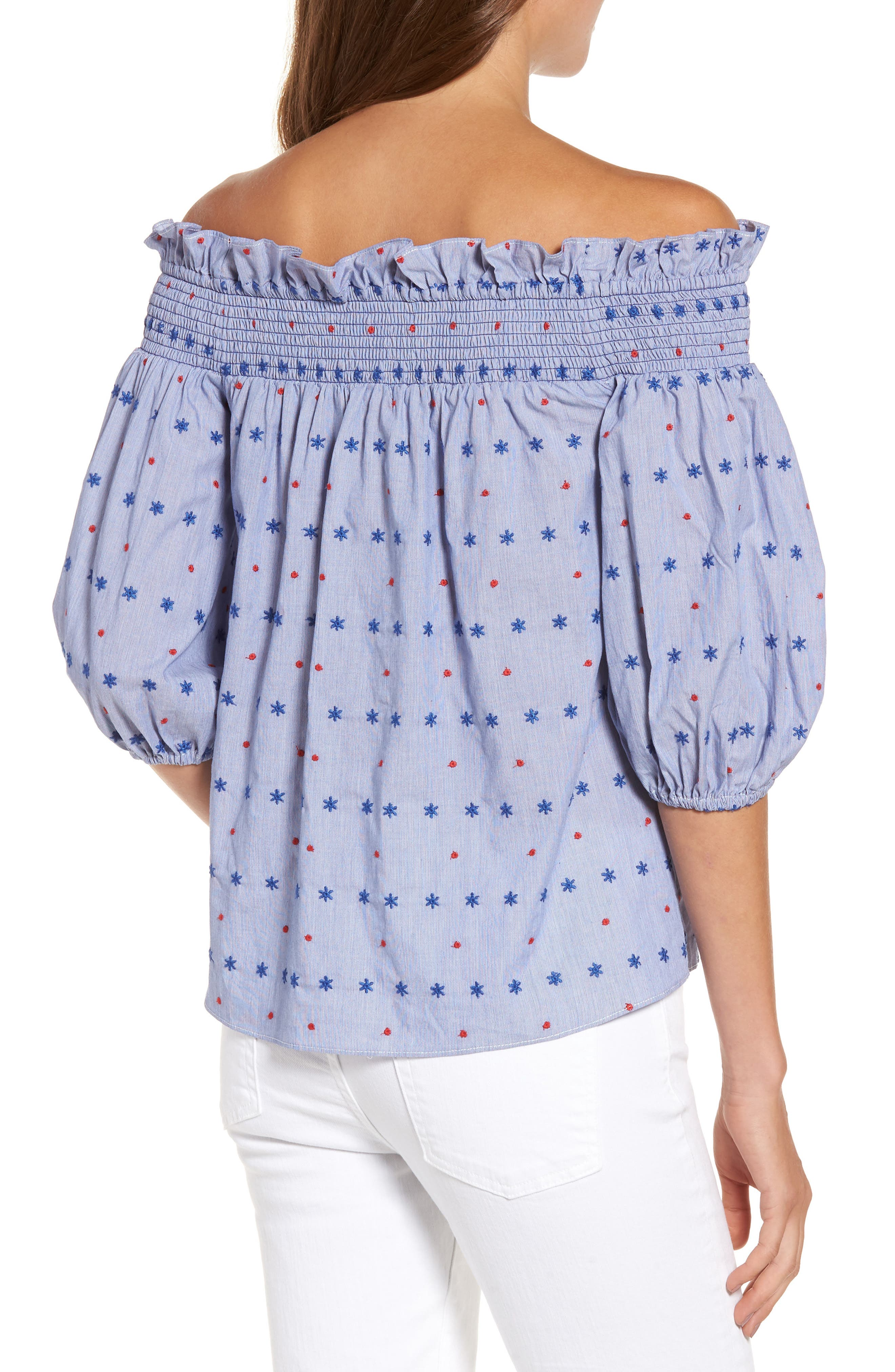 Alternate Image 2  - Parker Spade Off the Shoulder Blouse