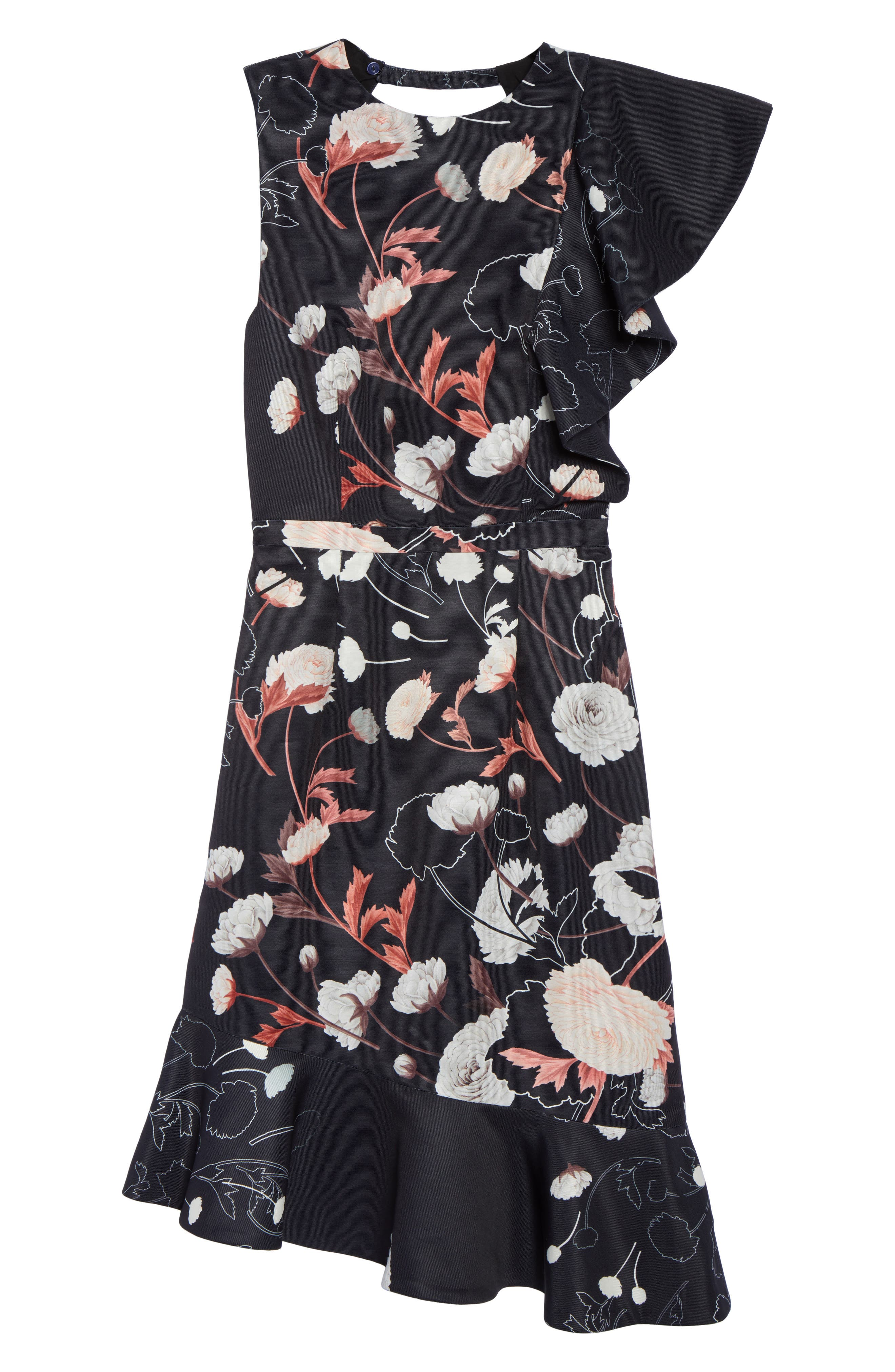 Alternate Image 6  - Cooper St Amaya Ruffle Sheath Dress