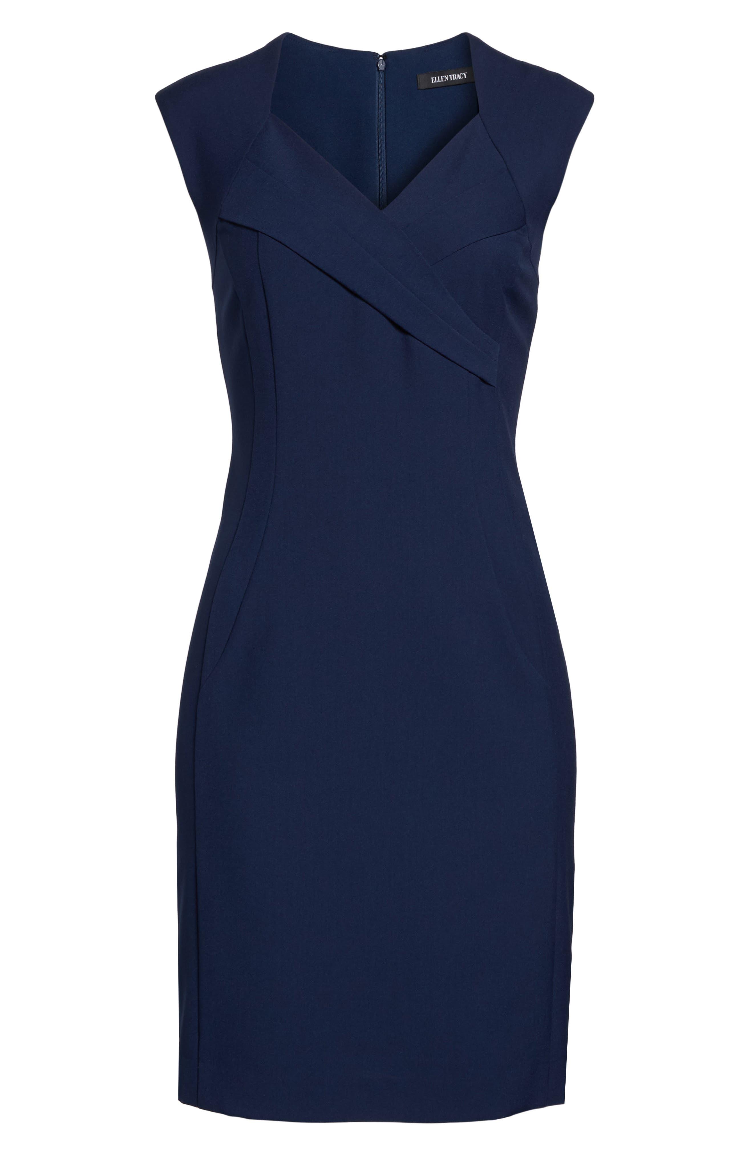 Alternate Image 6  - Ellen Tracy Sheath Dress