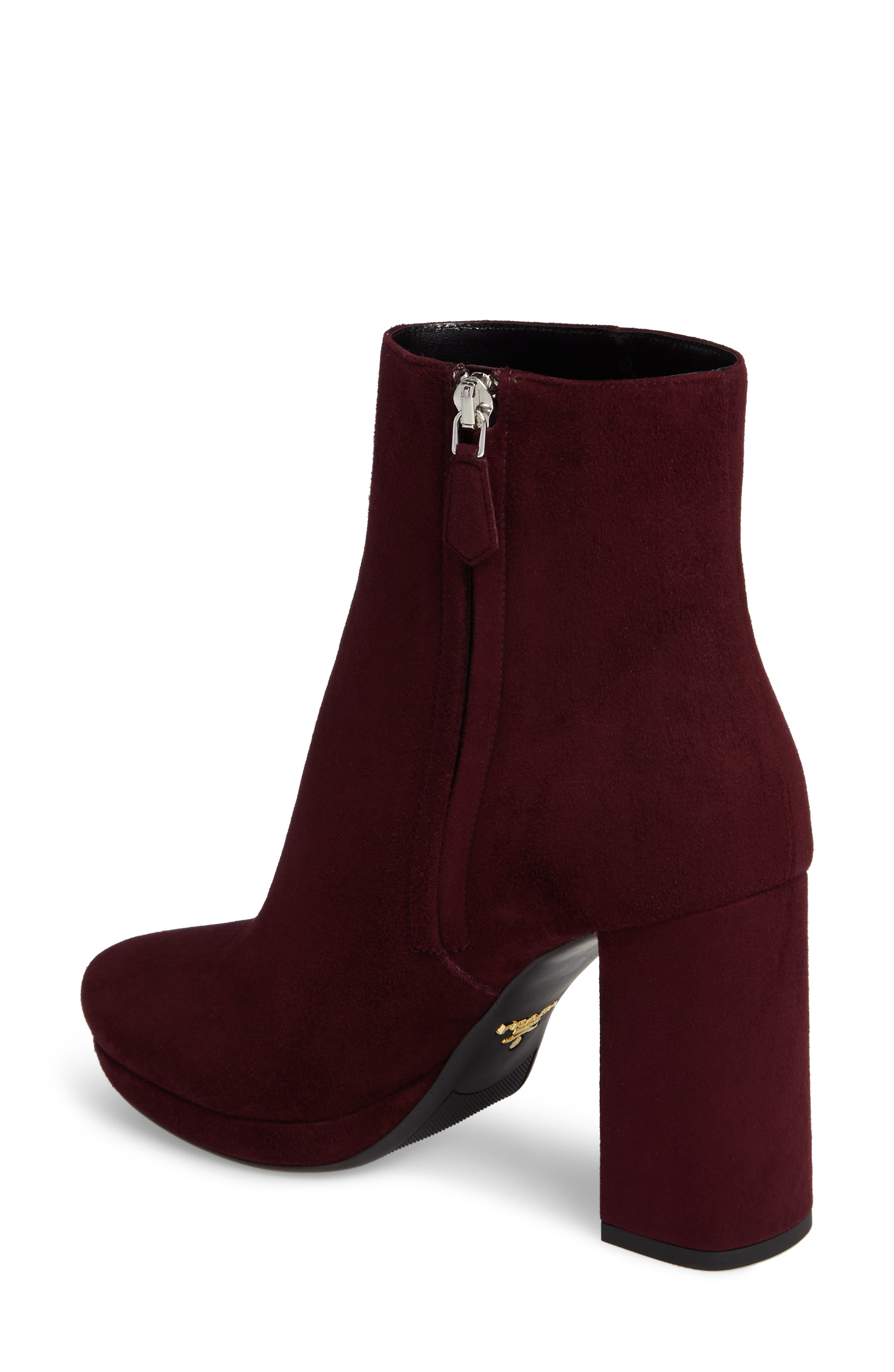 Alternate Image 2  - Prada Platform Bootie (Women)