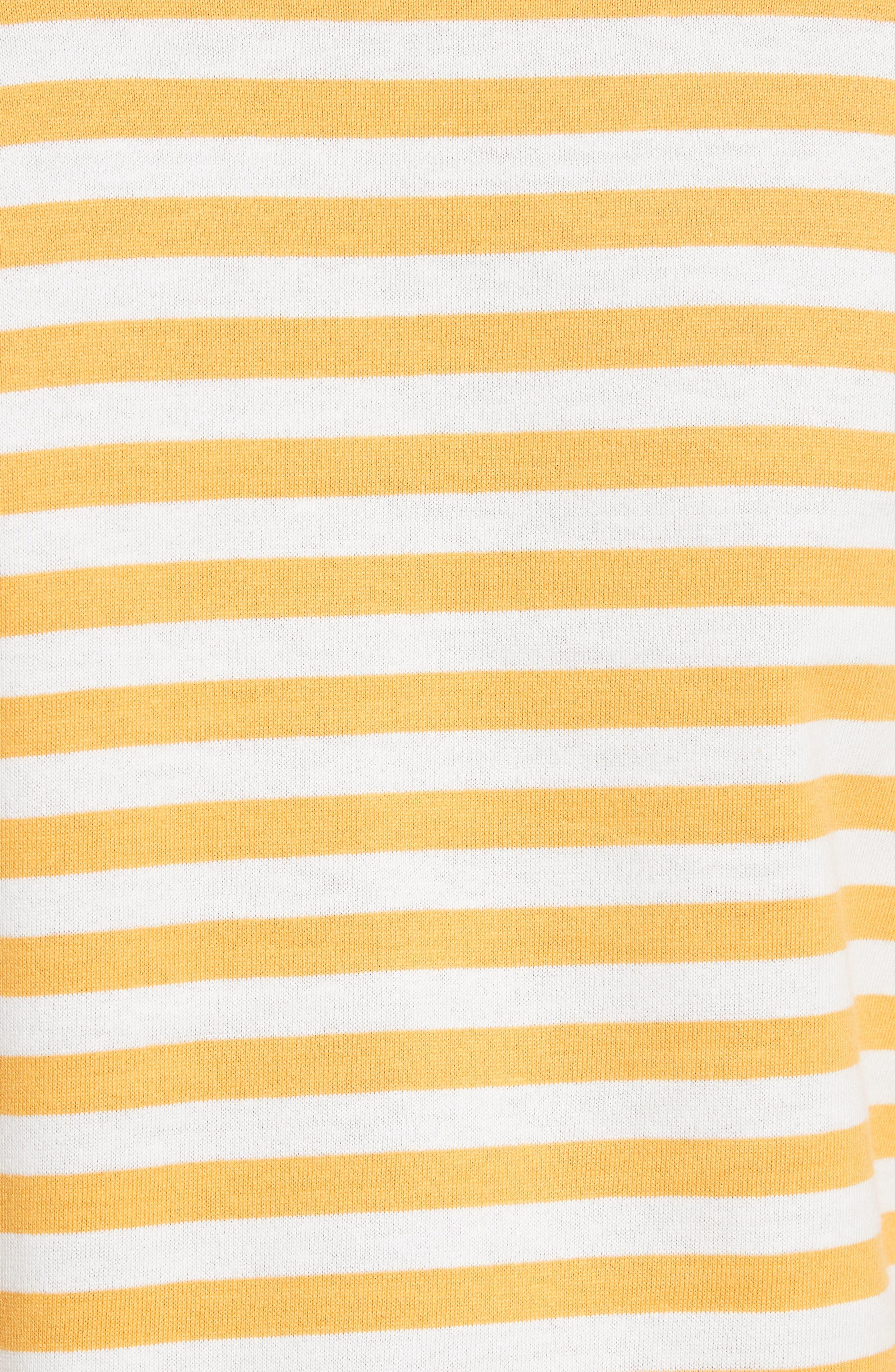 Alternate Image 5  - Comme des Garçons PLAY Stripe Cotton Tee