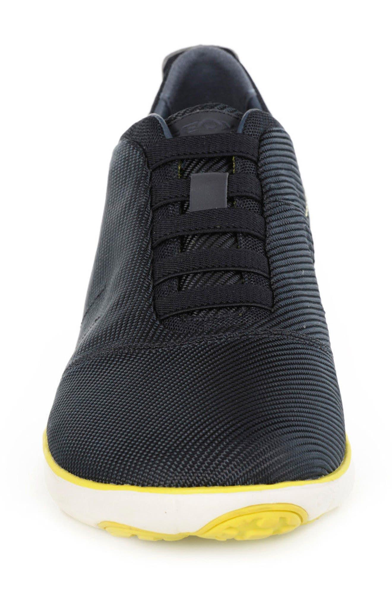 Nebula 35 Slip-On Sneaker,                             Alternate thumbnail 4, color,                             Navy