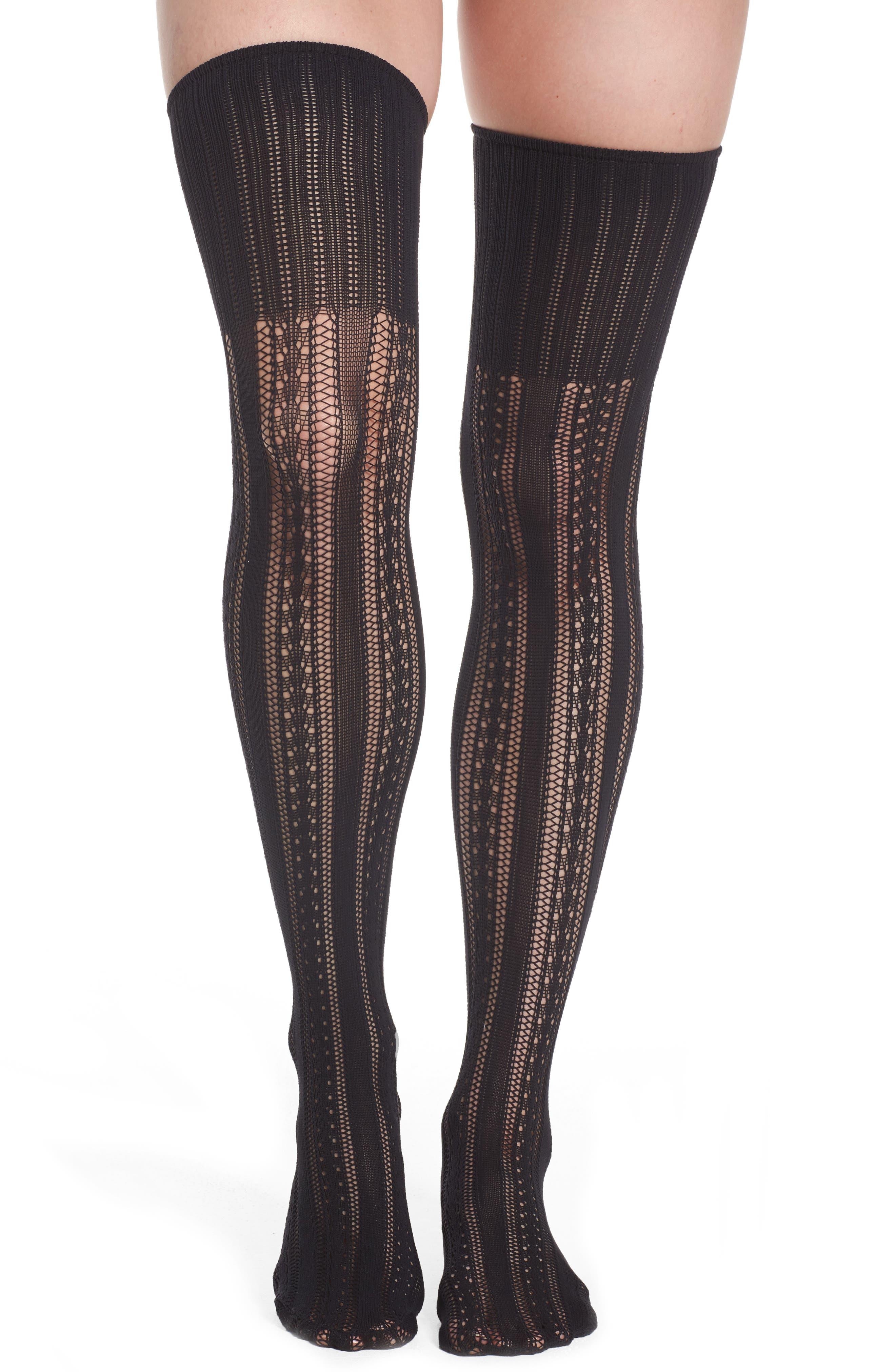 Alternate Image 1 Selected - Oroblu Alicia Over the Knee Socks