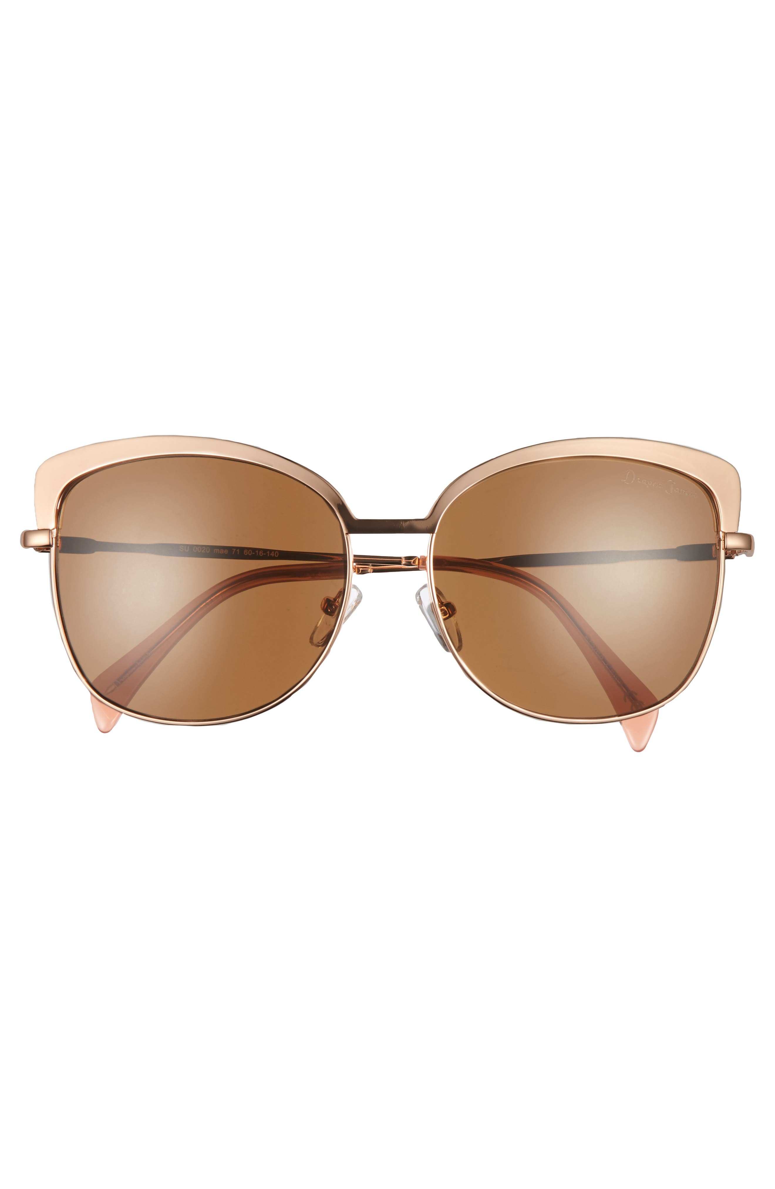 Alternate Image 3  - Draper James 60mm Cat Eye Sunglasses