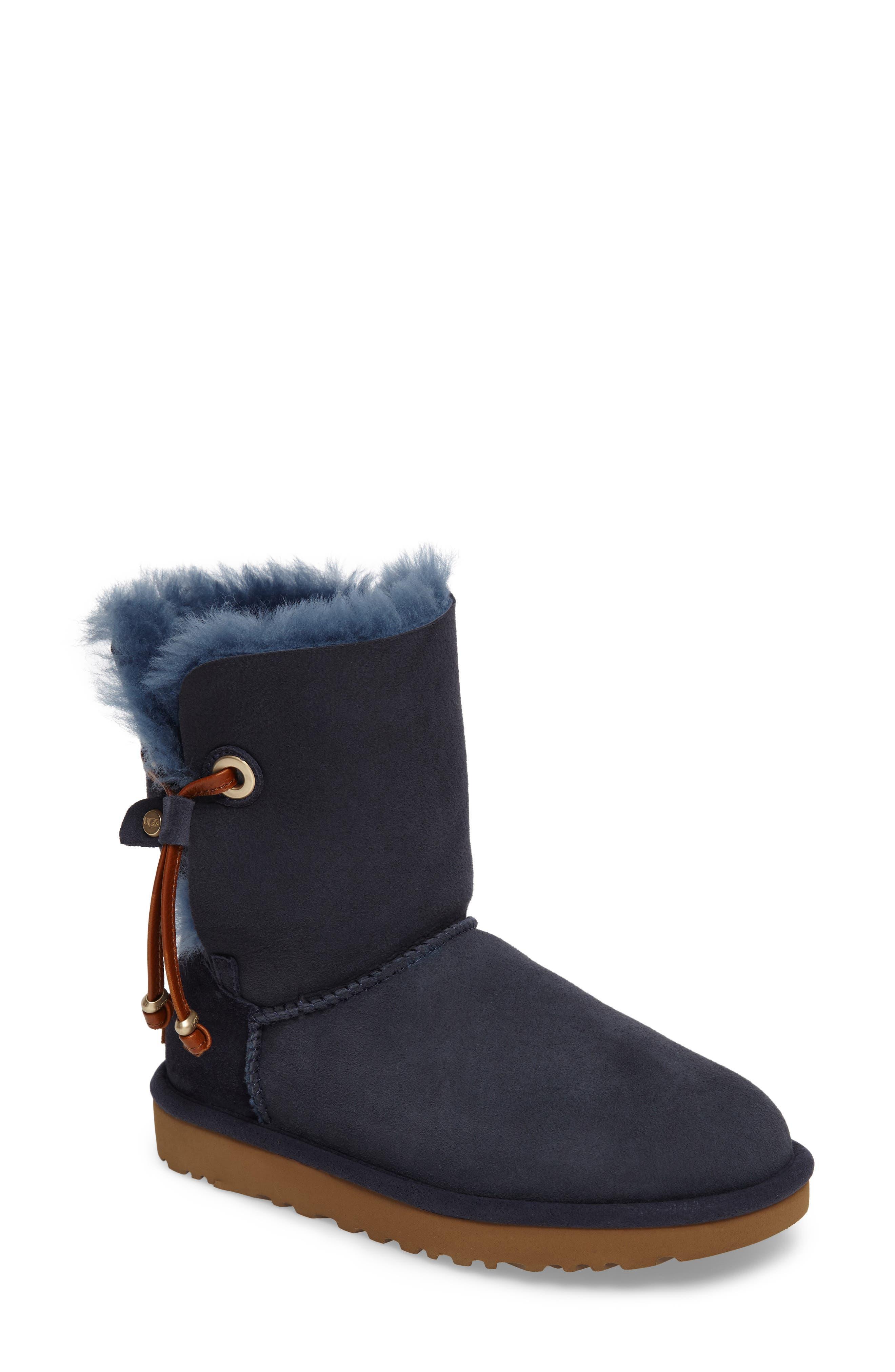 UGG® Maia Genuine Shearling Short Boot (Women)