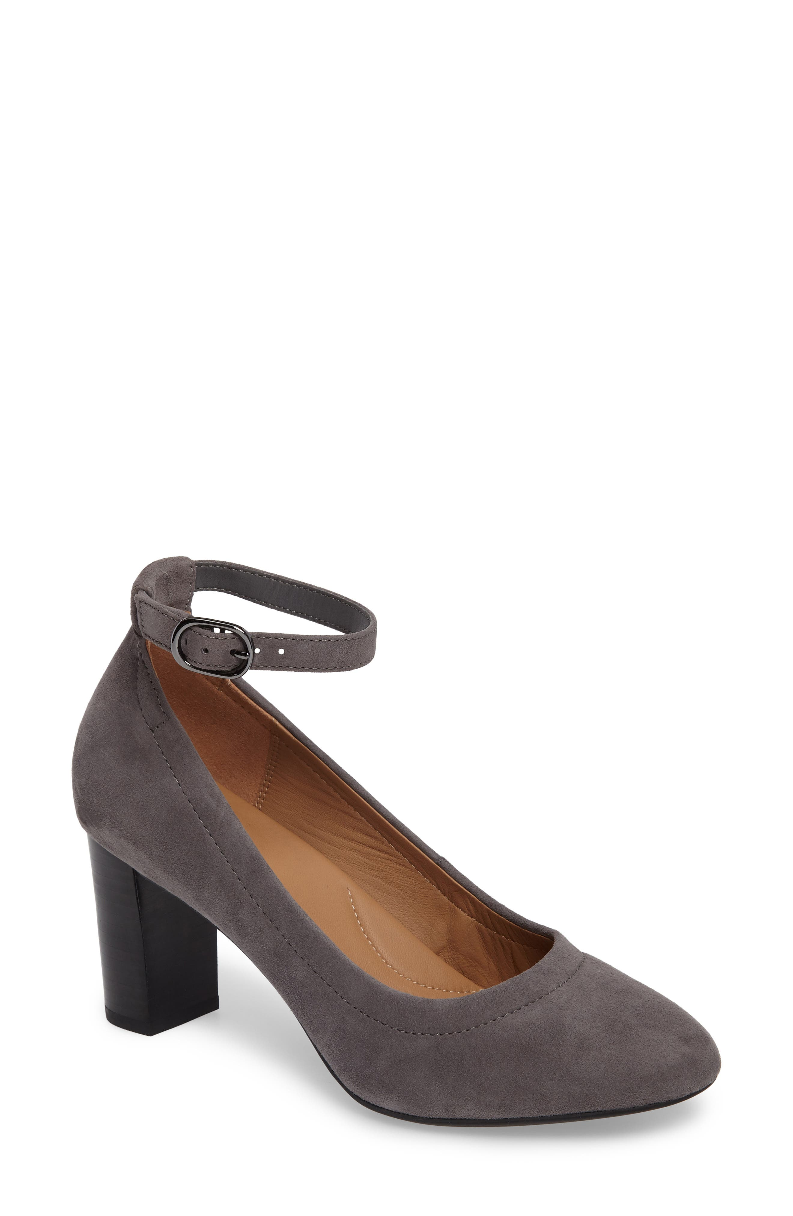 Alternate Image 1 Selected - Clarks® Chryssa Jana Ankle Strap Pump (Women)
