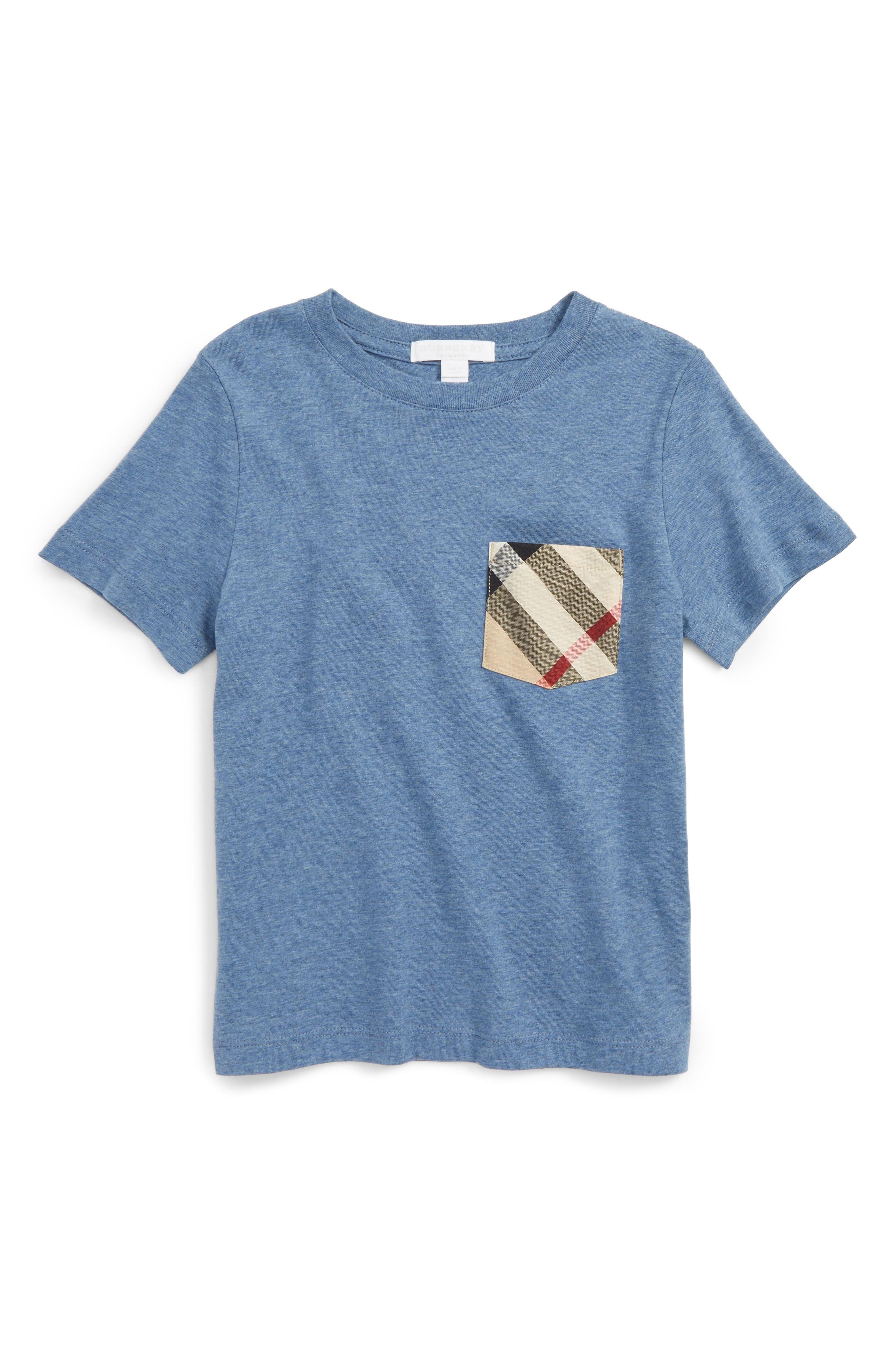 BURBERRY Check Pocket Shirt