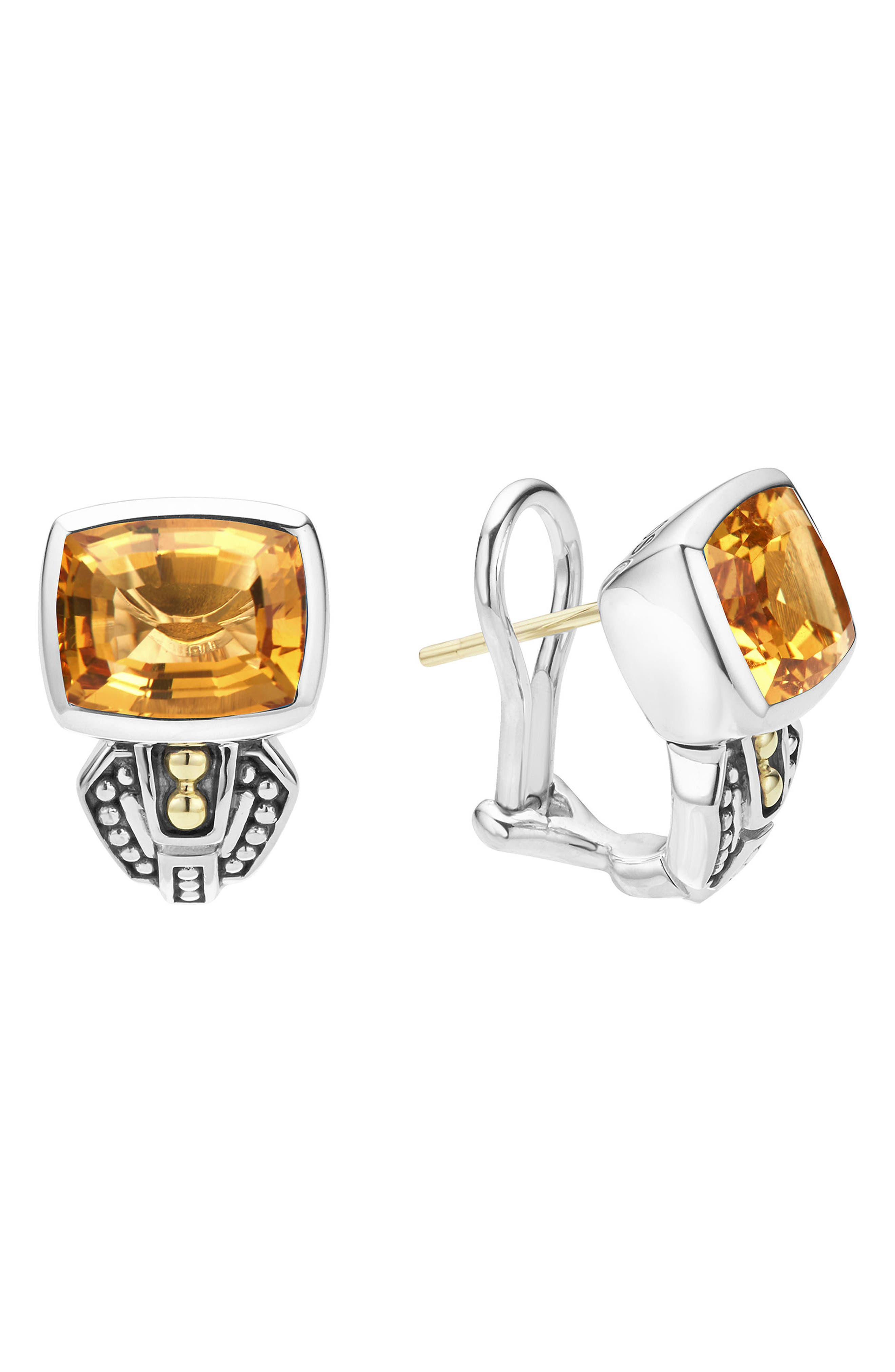 LAGOS 'Caviar Color' Semiprecious Stone Stud Earrings