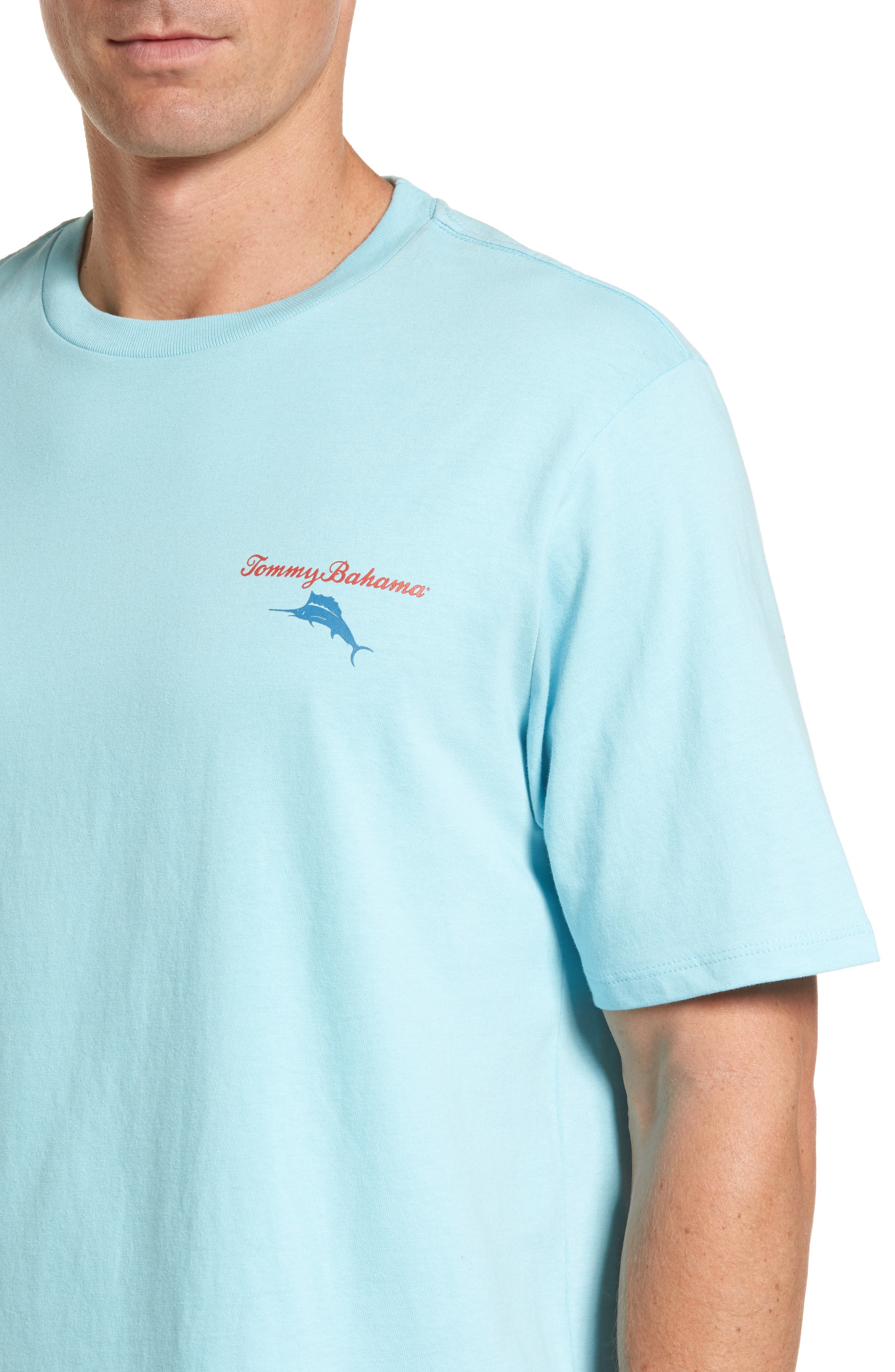 Mr. Ice Guy Graphic T-Shirt,                             Alternate thumbnail 3, color,                             Graceful Sea