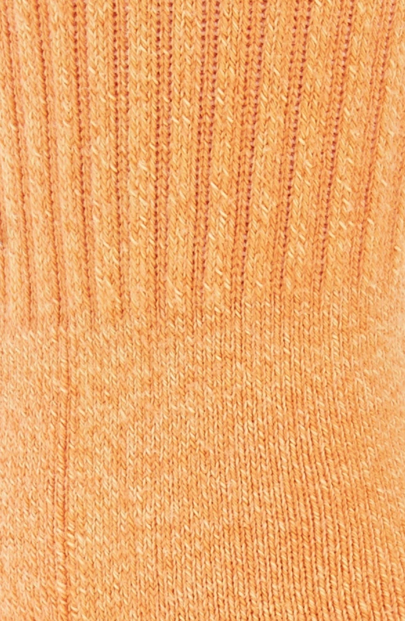 Salty Crew Socks,                             Alternate thumbnail 2, color,                             Pastel Orange