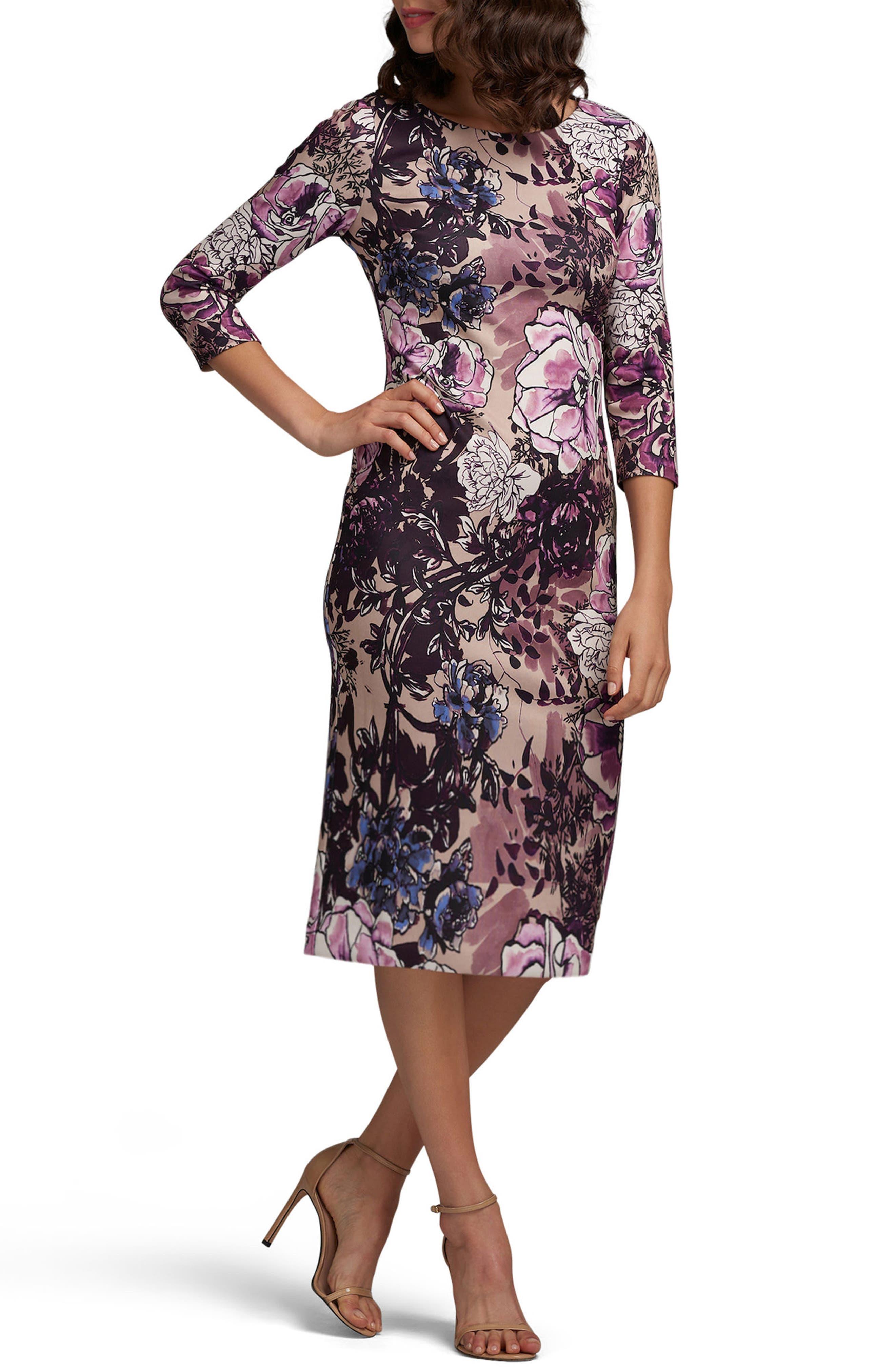 Main Image - ECI Scuba Sheath Dress