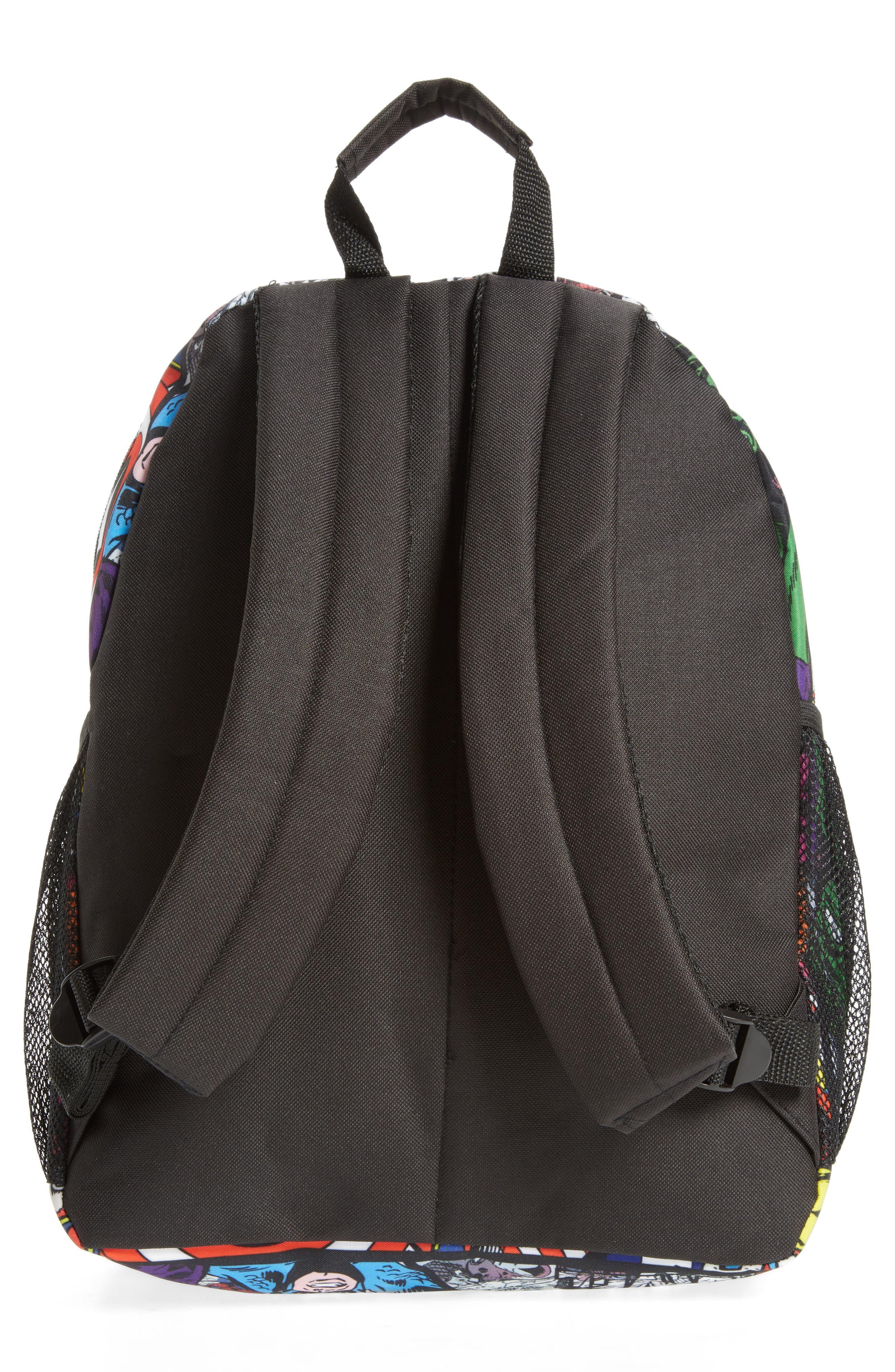 Alternate Image 2  - Marvel Allover Print Backpack (Kids)