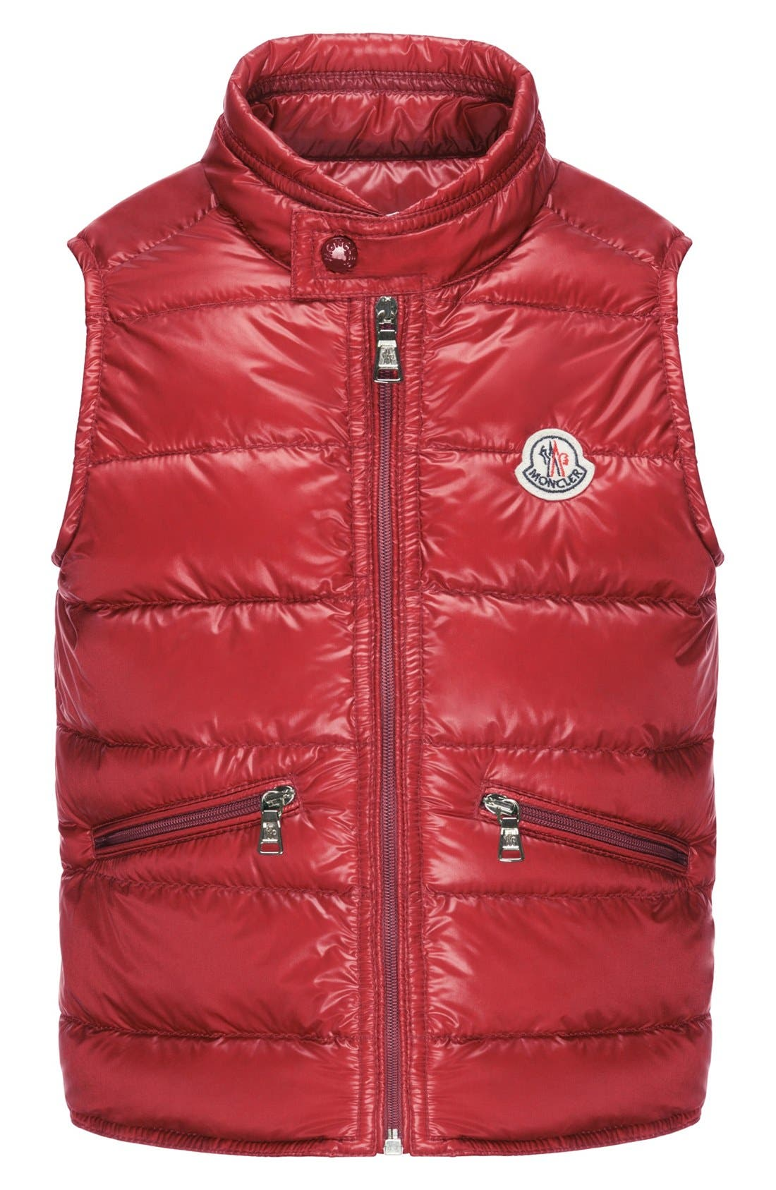 Moncler 'Gui' Water Resistant Quilted Down Vest (Big Boys)
