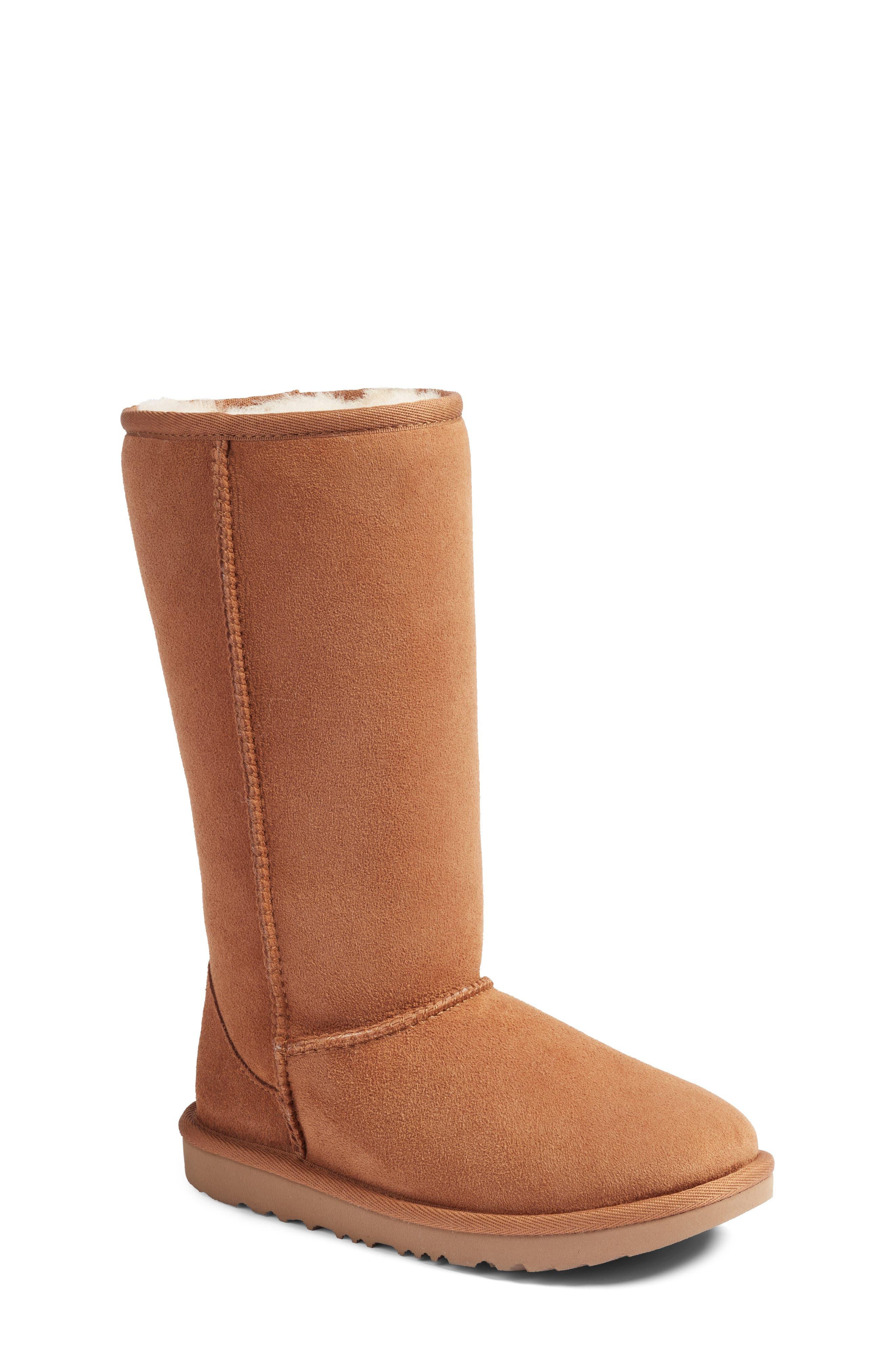 UGG® Classic II Water-Resistant Tall Boot (Little Kid & Big Kid)