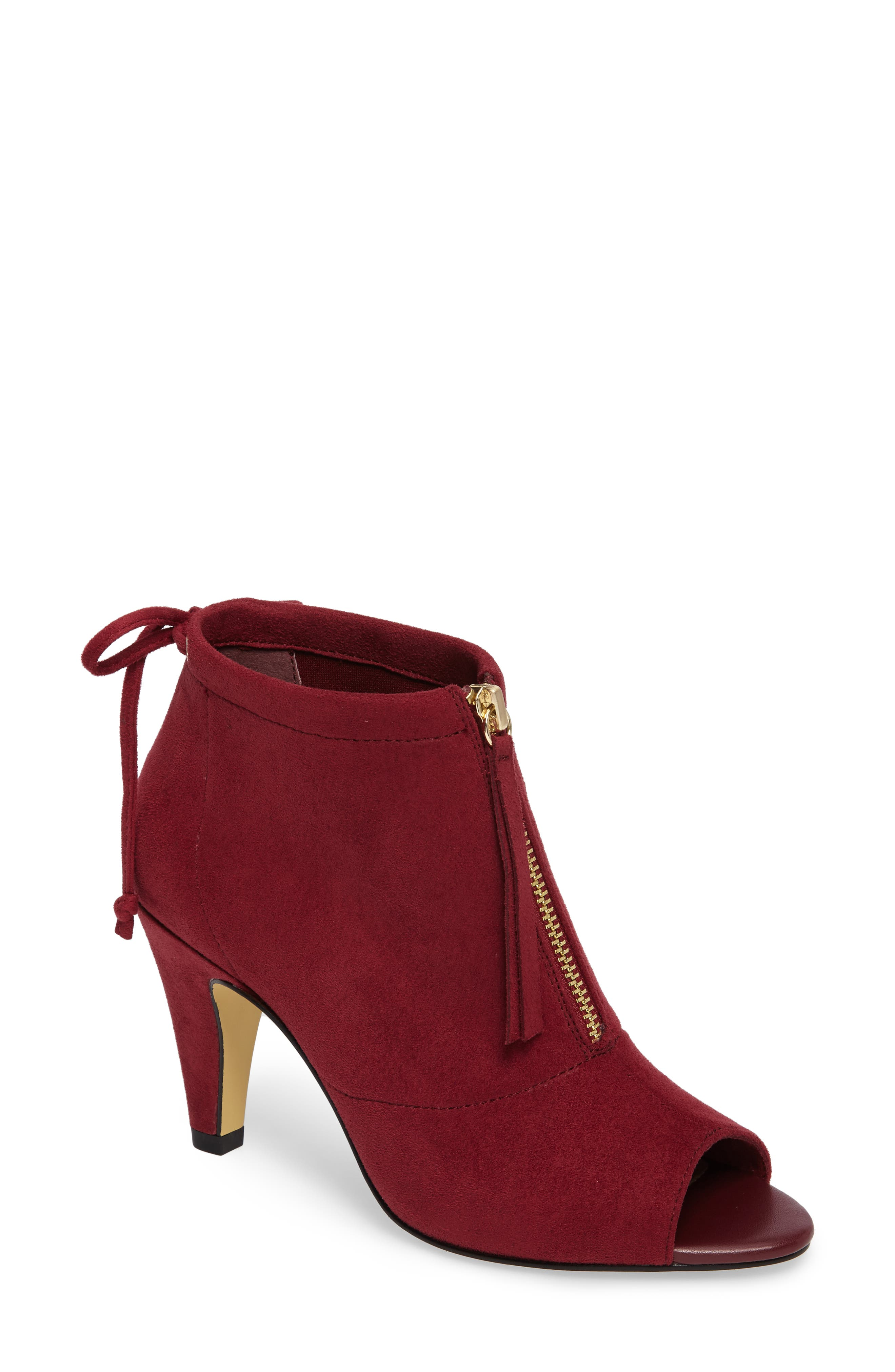 Bella Vita Nicky II Zip Front Bootie (Women)
