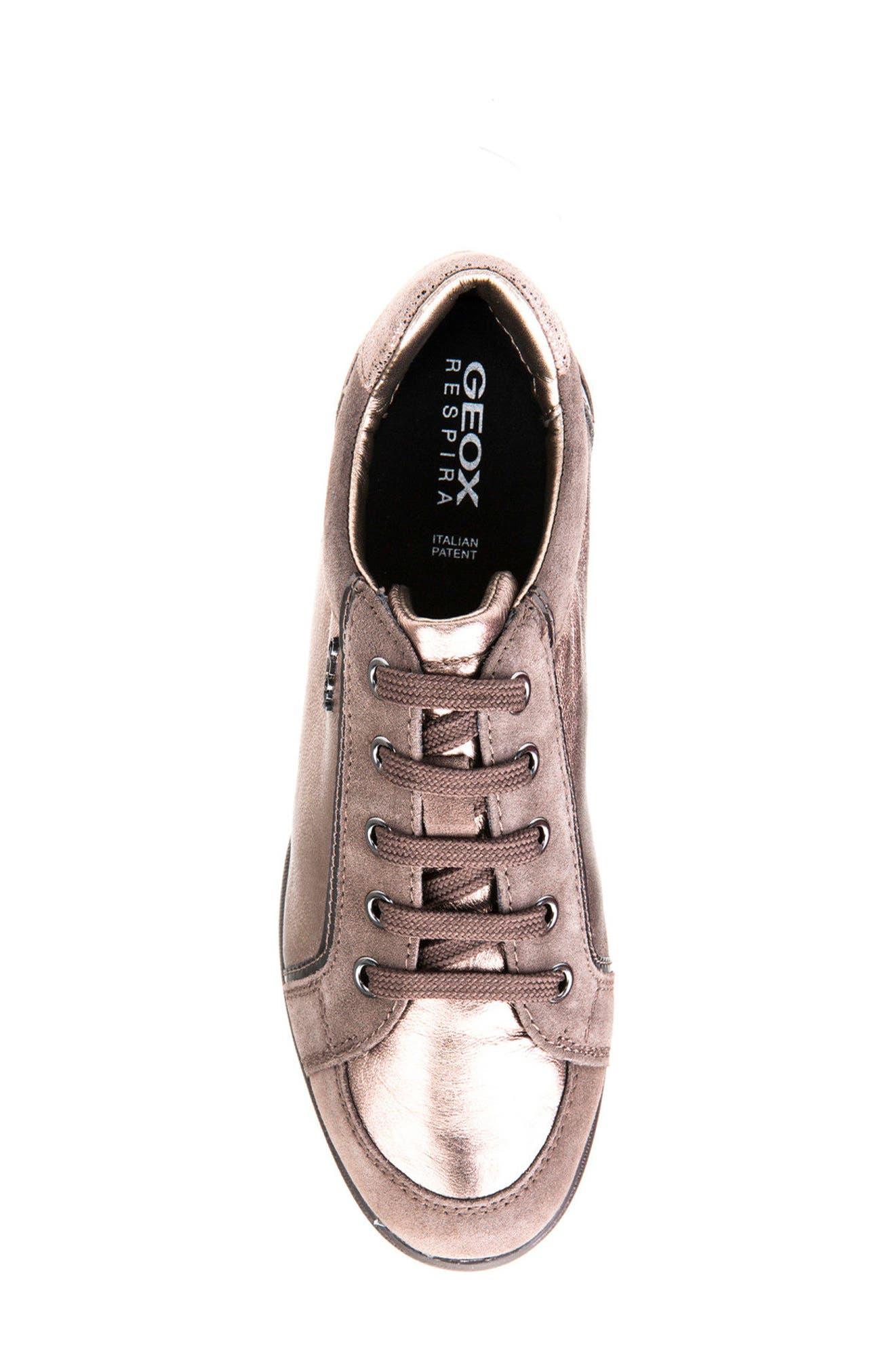 Alternate Image 5  - Geox Stardust Wedge Sneaker (Women)