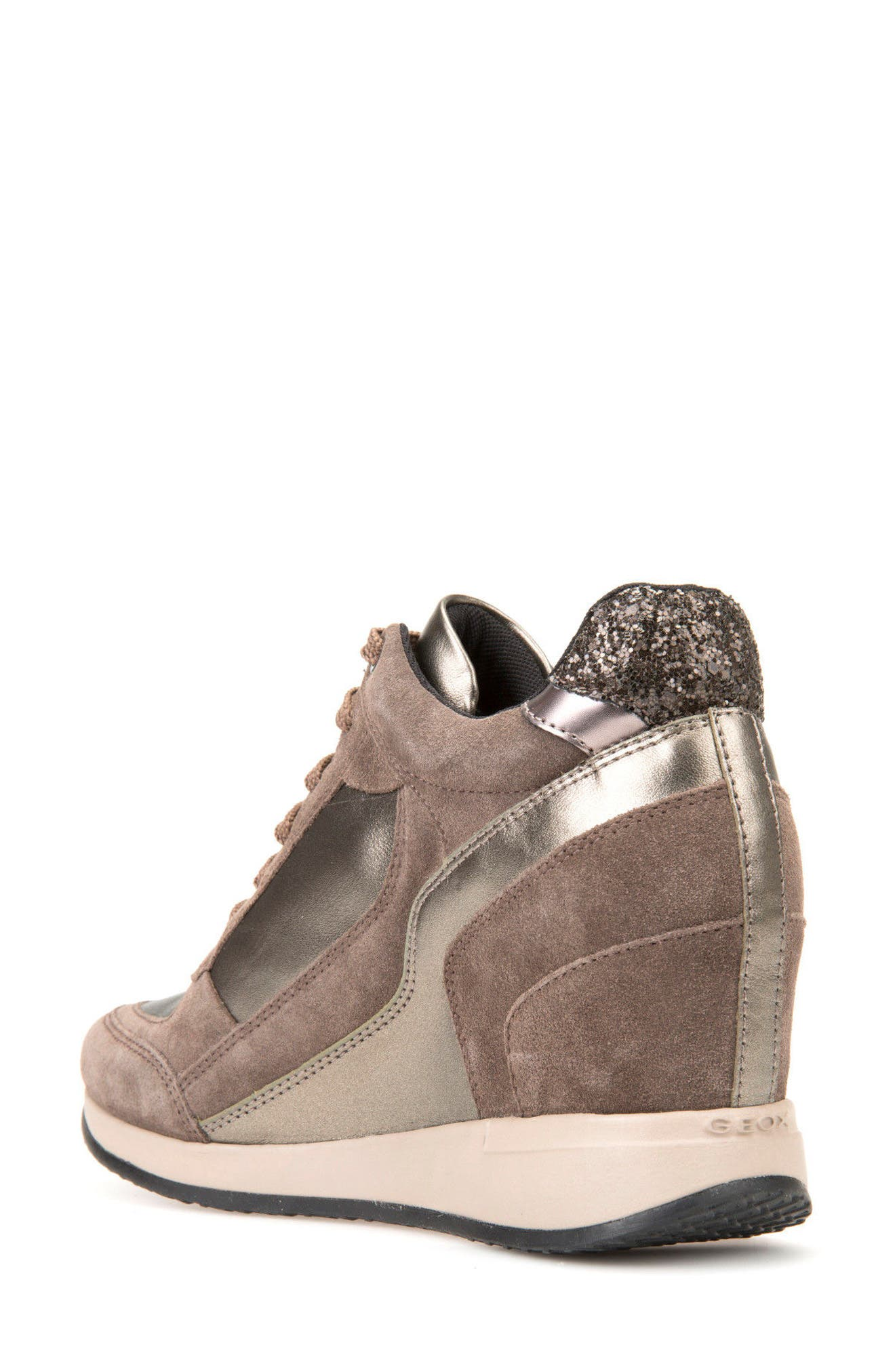 Alternate Image 2  - Geox Nydame Wedge Sneaker (Women)