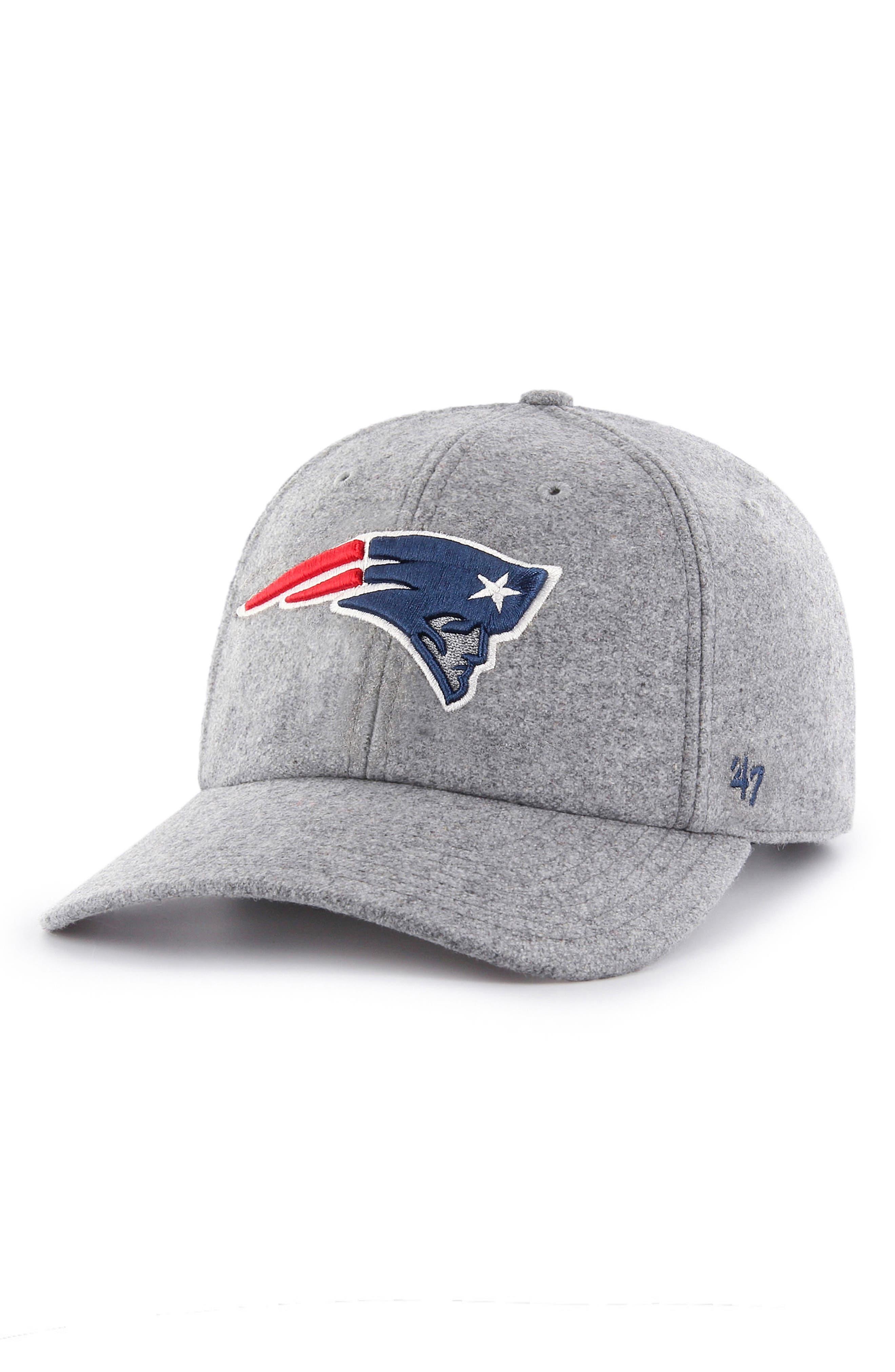 NFL Clean-Up Ball Cap,                             Main thumbnail 1, color,                             New England Patriots