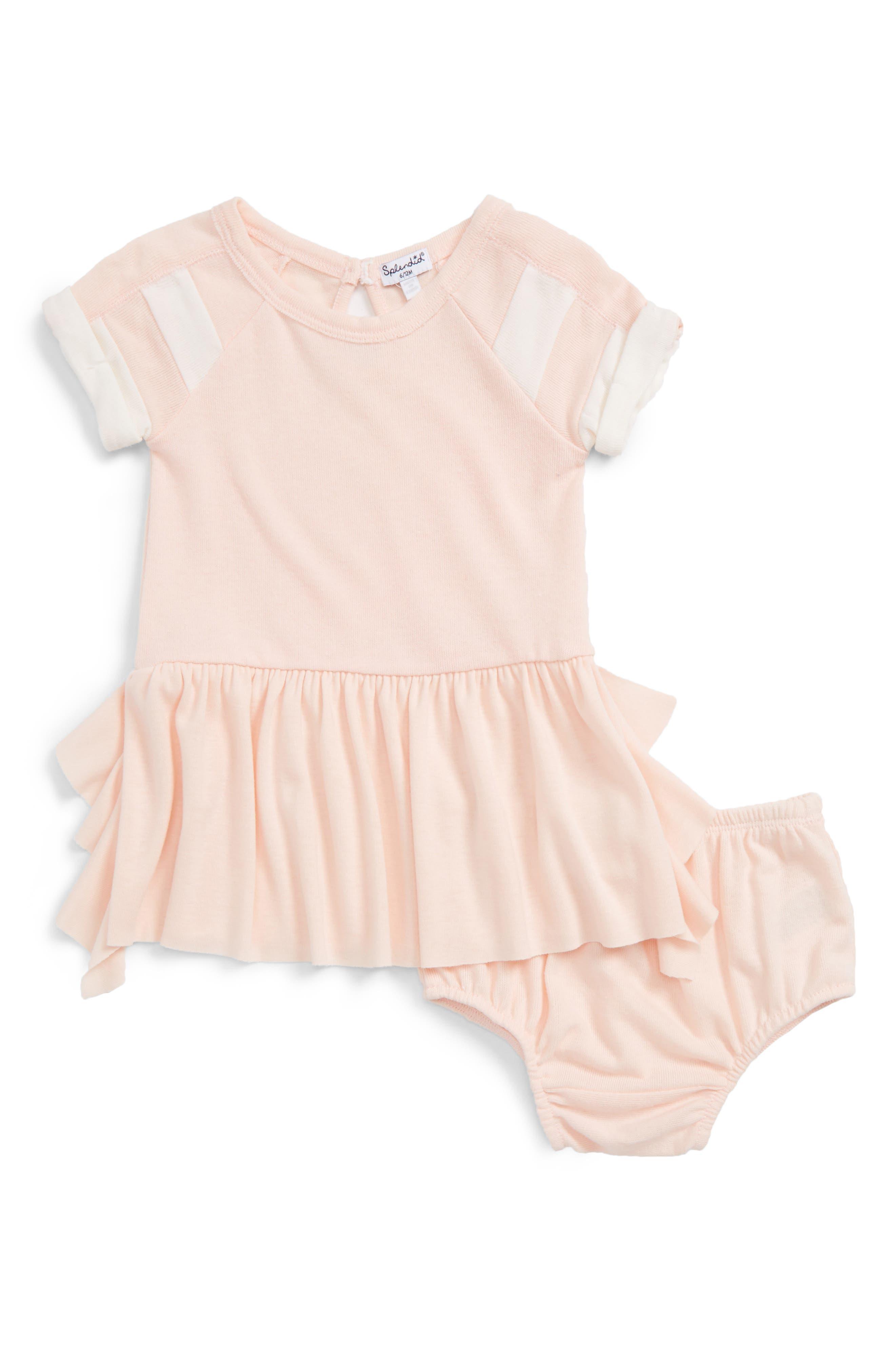 Alternate Image 1 Selected - Splendid Knit Dress (Baby Girls)