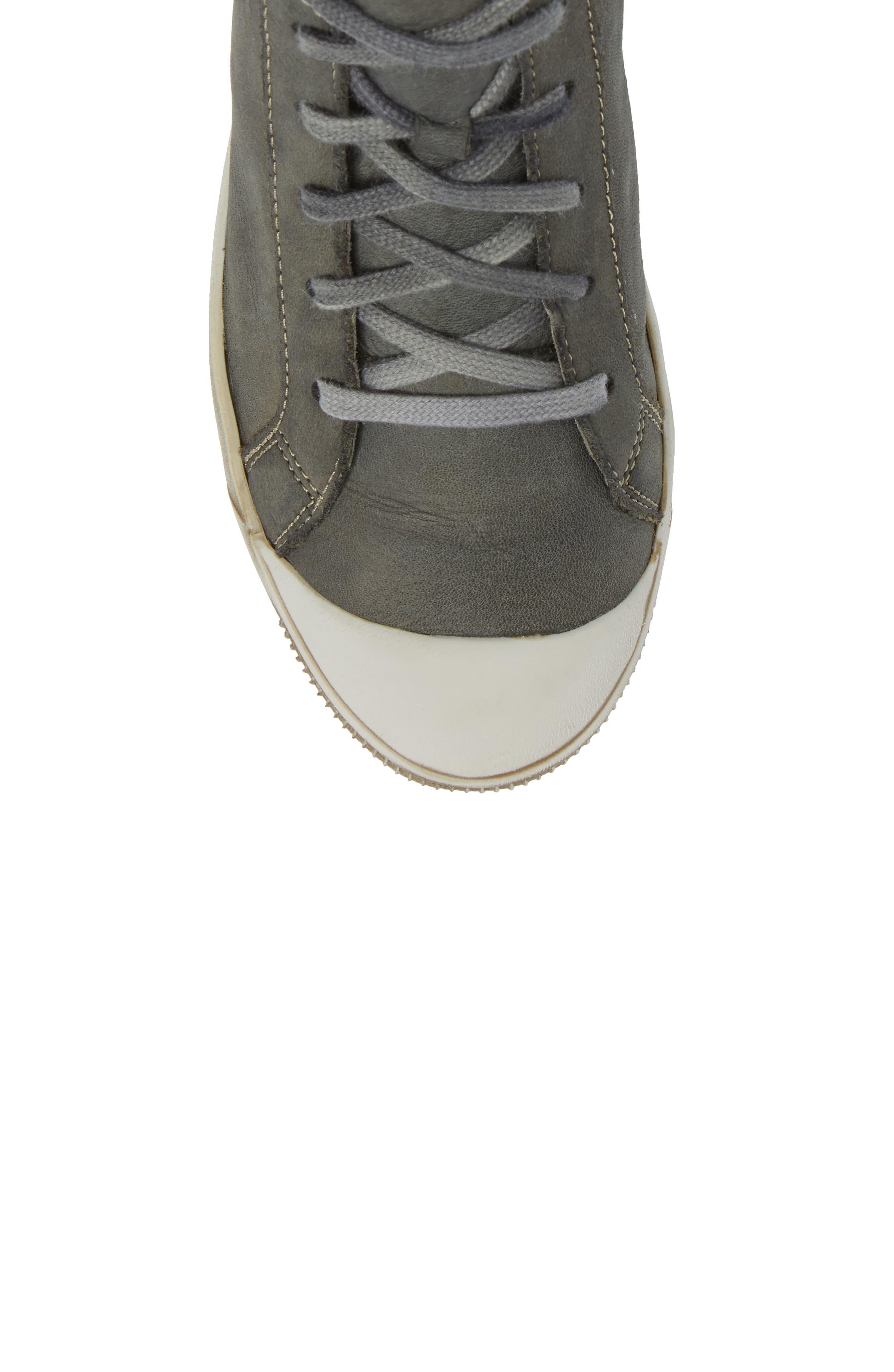 Alternate Image 5  - Softinos by Fly London Kip High Top Sneaker (Women)