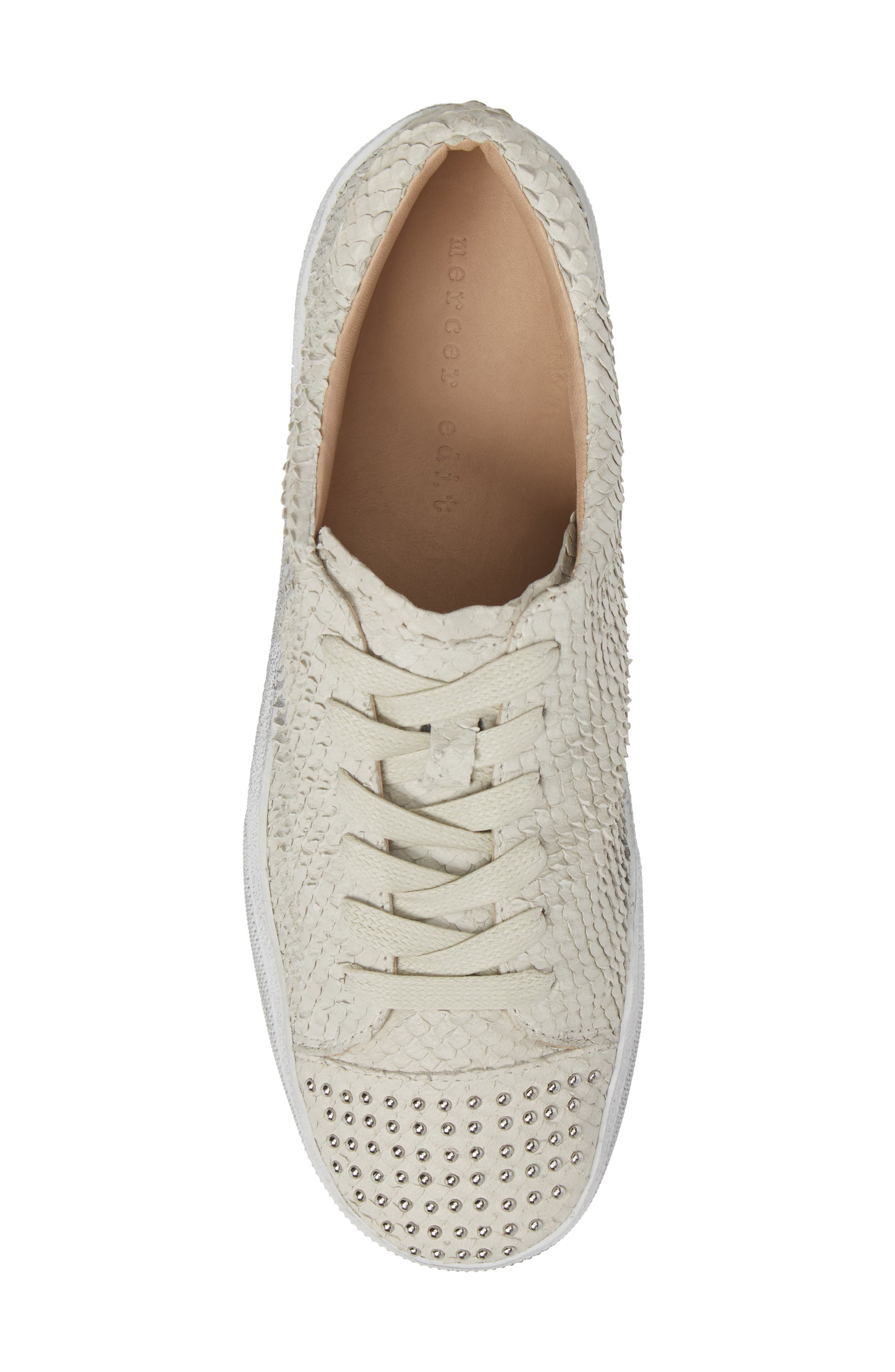 Catcall Studded Sneaker,                             Alternate thumbnail 5, color,                             Vodka/ Silver