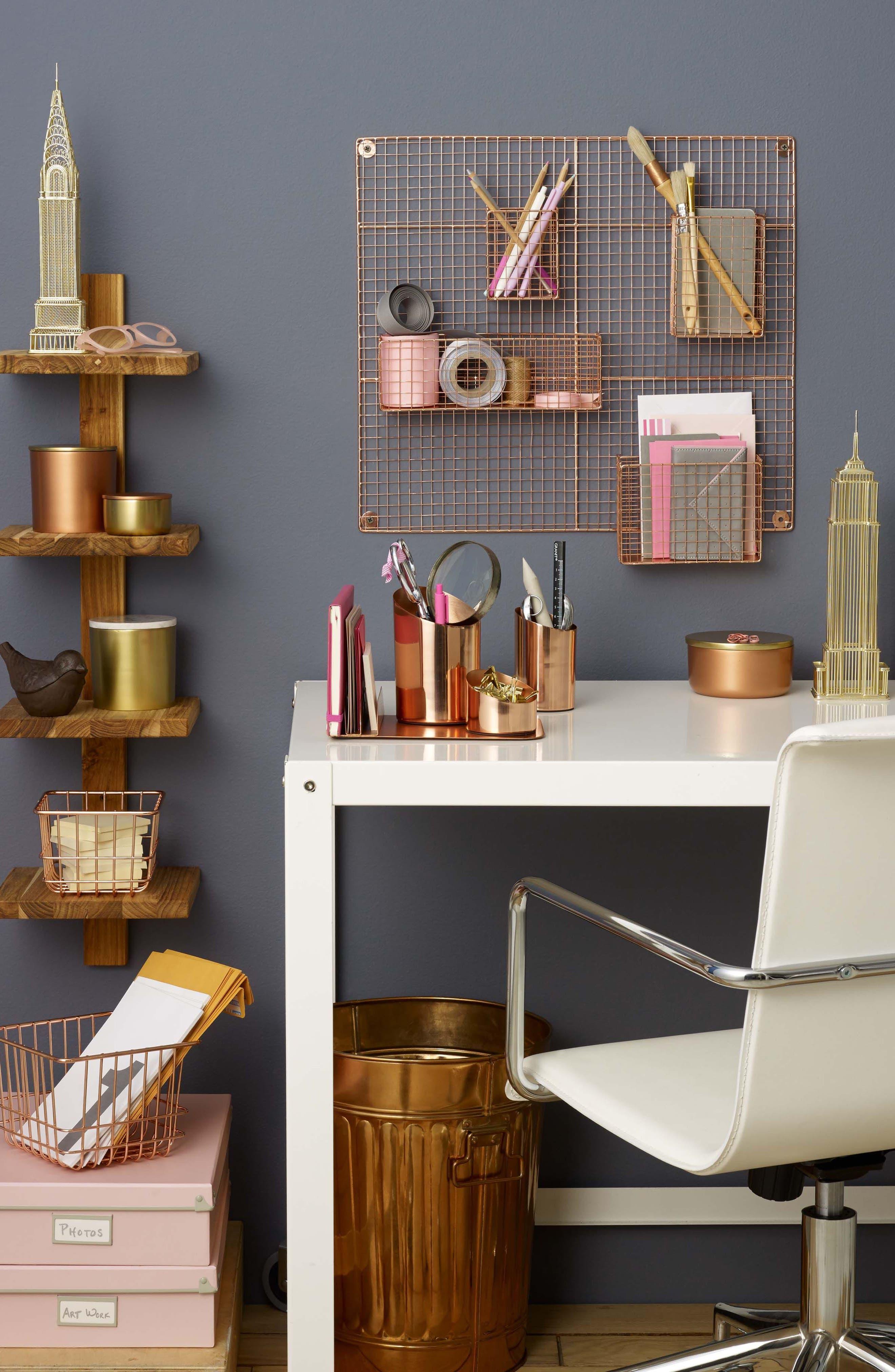 Alternate Image 2  - Design Ideas Trace Desk Organizer