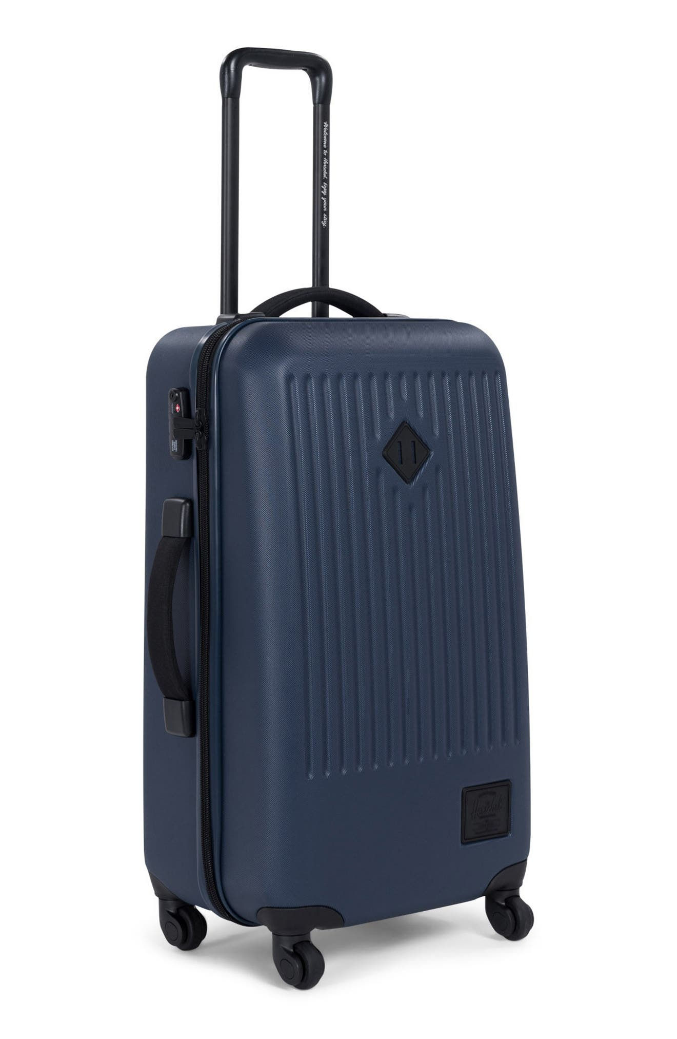 Trade Medium Wheeled Packing Case,                             Alternate thumbnail 3, color,                             Navy