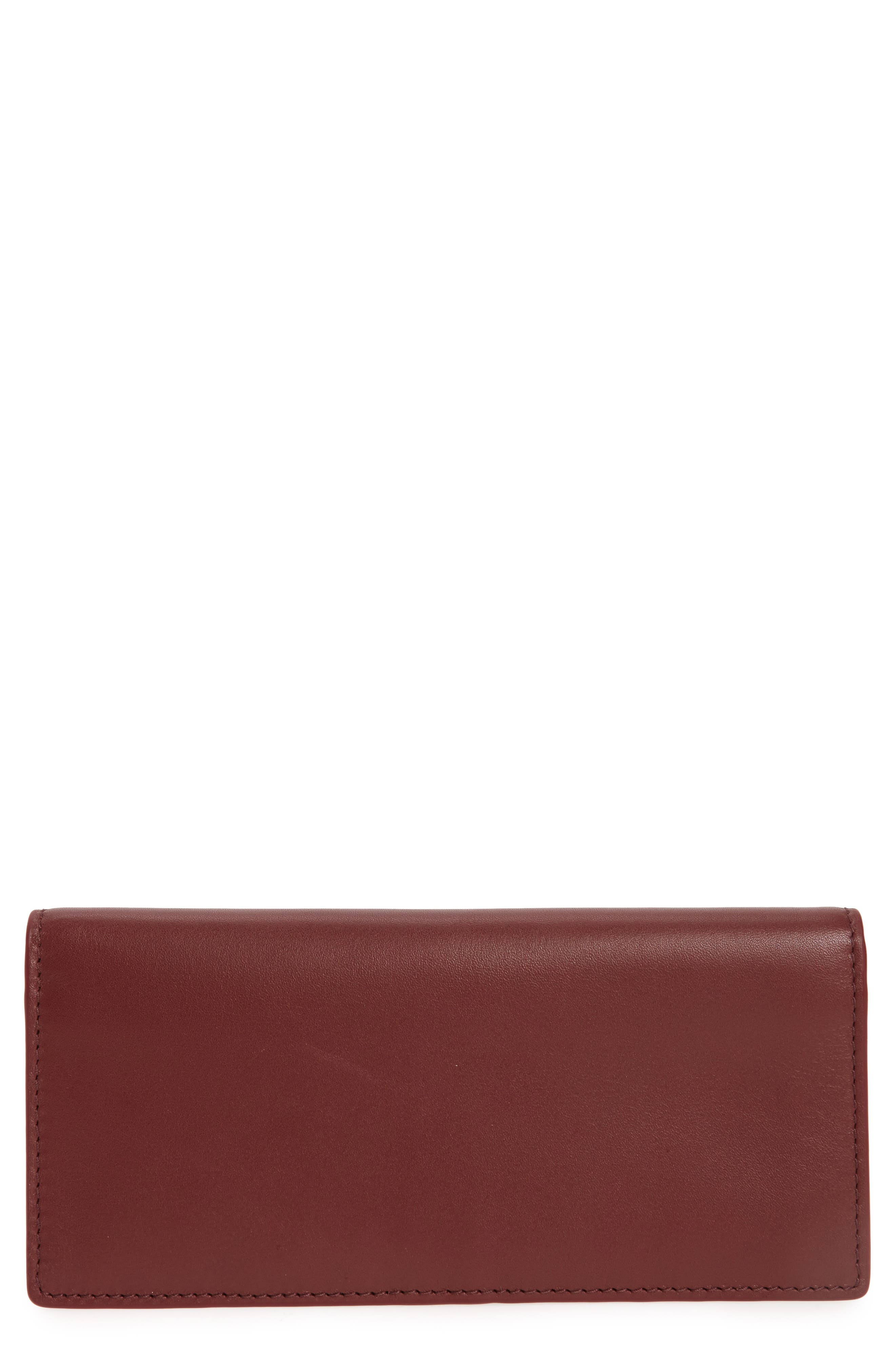 Skagen Slim Vertical Leather Wallet