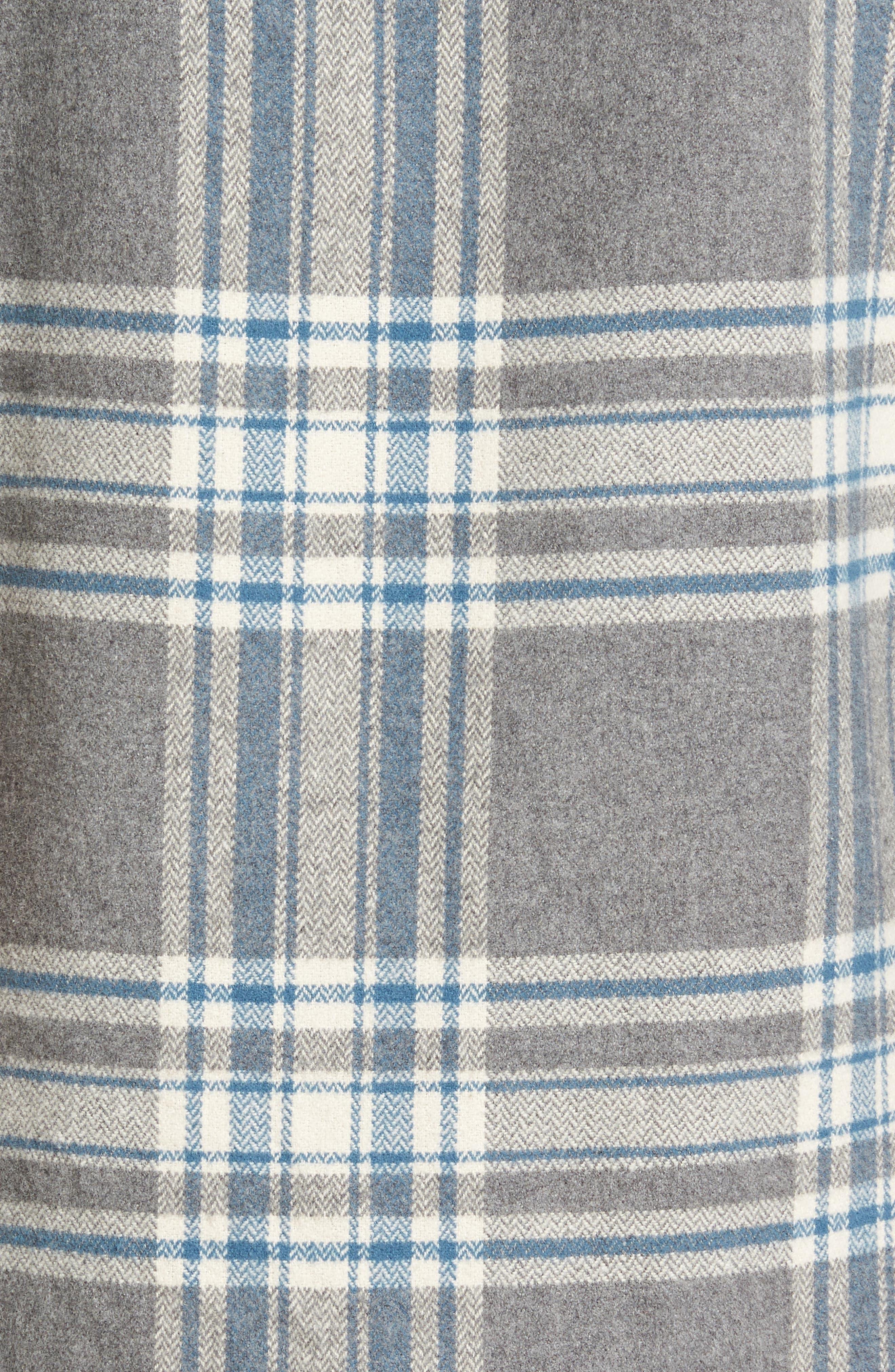Alternate Image 5  - Jeremiah Marin Herringbone Plaid Flannel Shirt