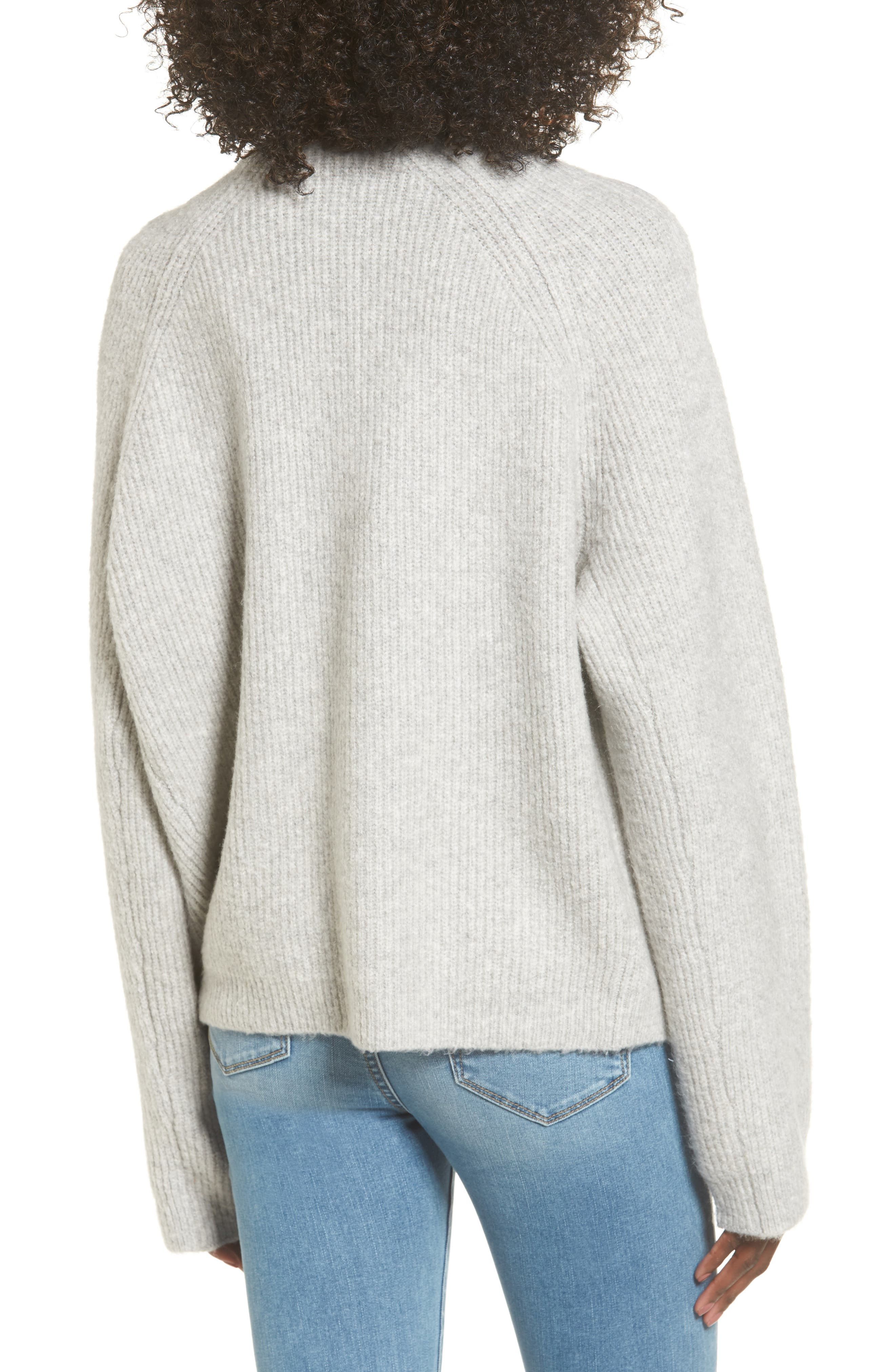 Cardigan Sweater,                             Alternate thumbnail 2, color,                             Grey Med Htr