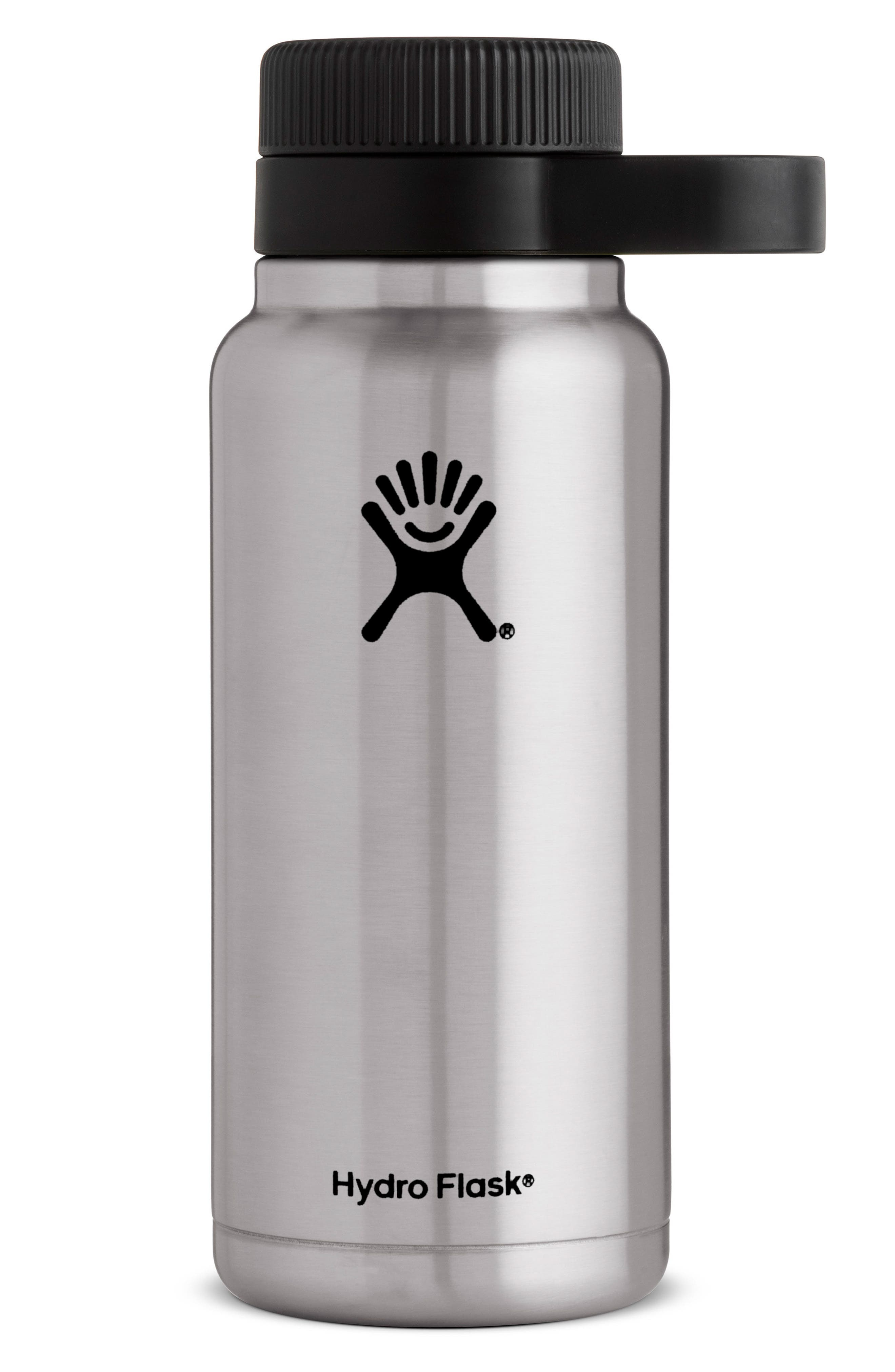 32-Ounce Wide Mouth Growler,                         Main,                         color, Stainless